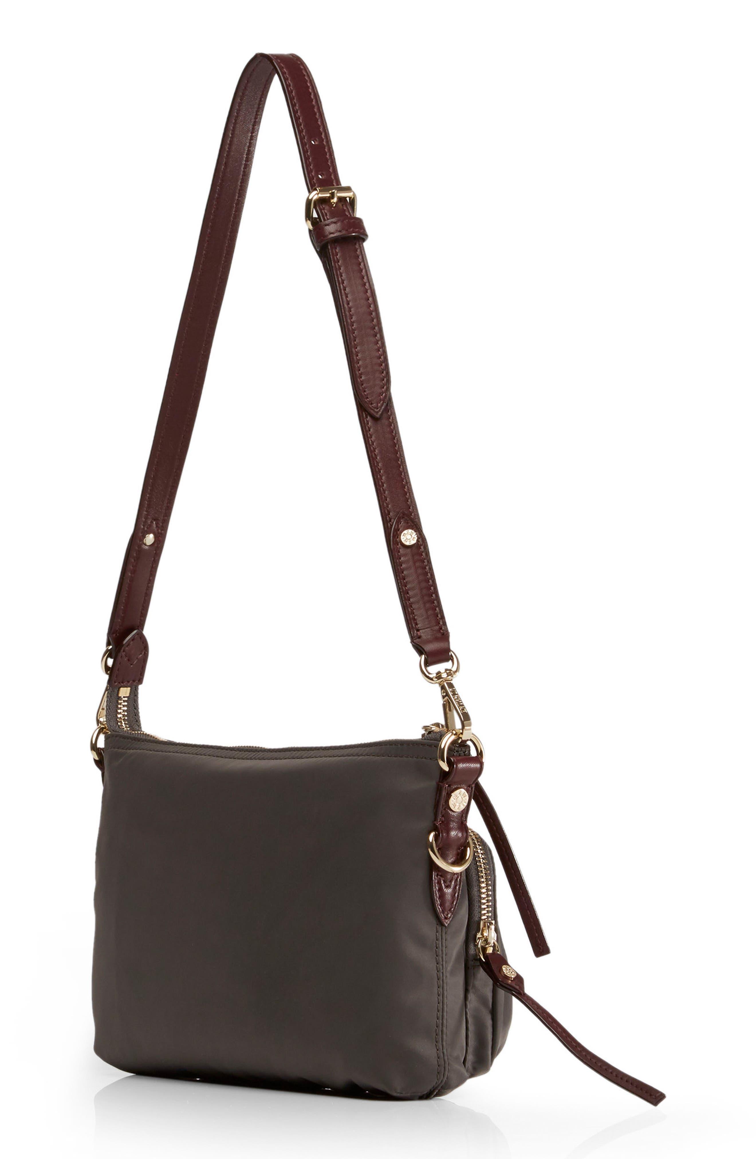 Toni Bedford Nylon Crossbody Bag,                             Alternate thumbnail 3, color,                             023