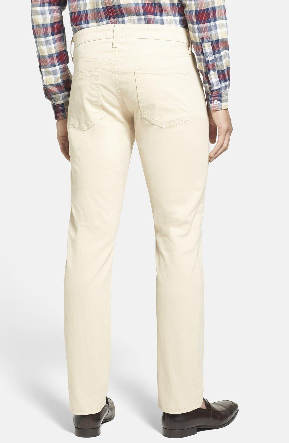 'Kane' Slim Fit Cotton Twill Pants,                             Alternate thumbnail 31, color,