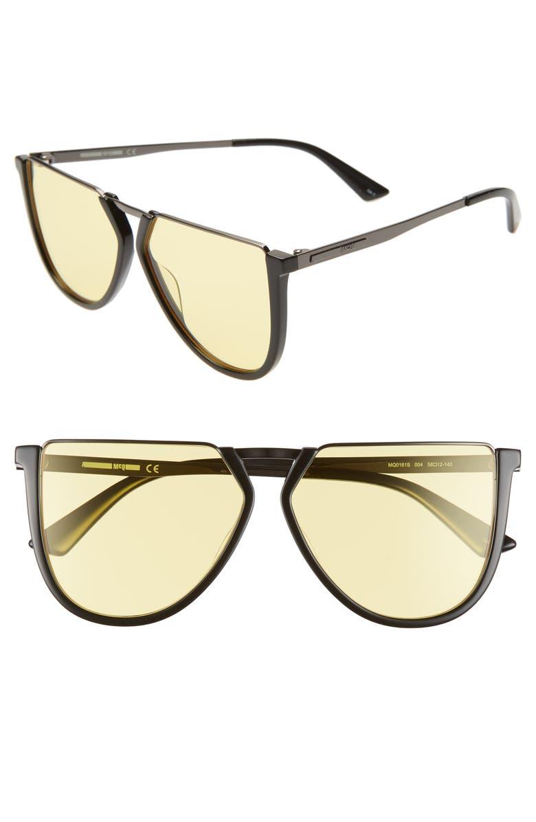 1770d49770 McQ Alexander McQueen 58mm Flat Top Sunglasses