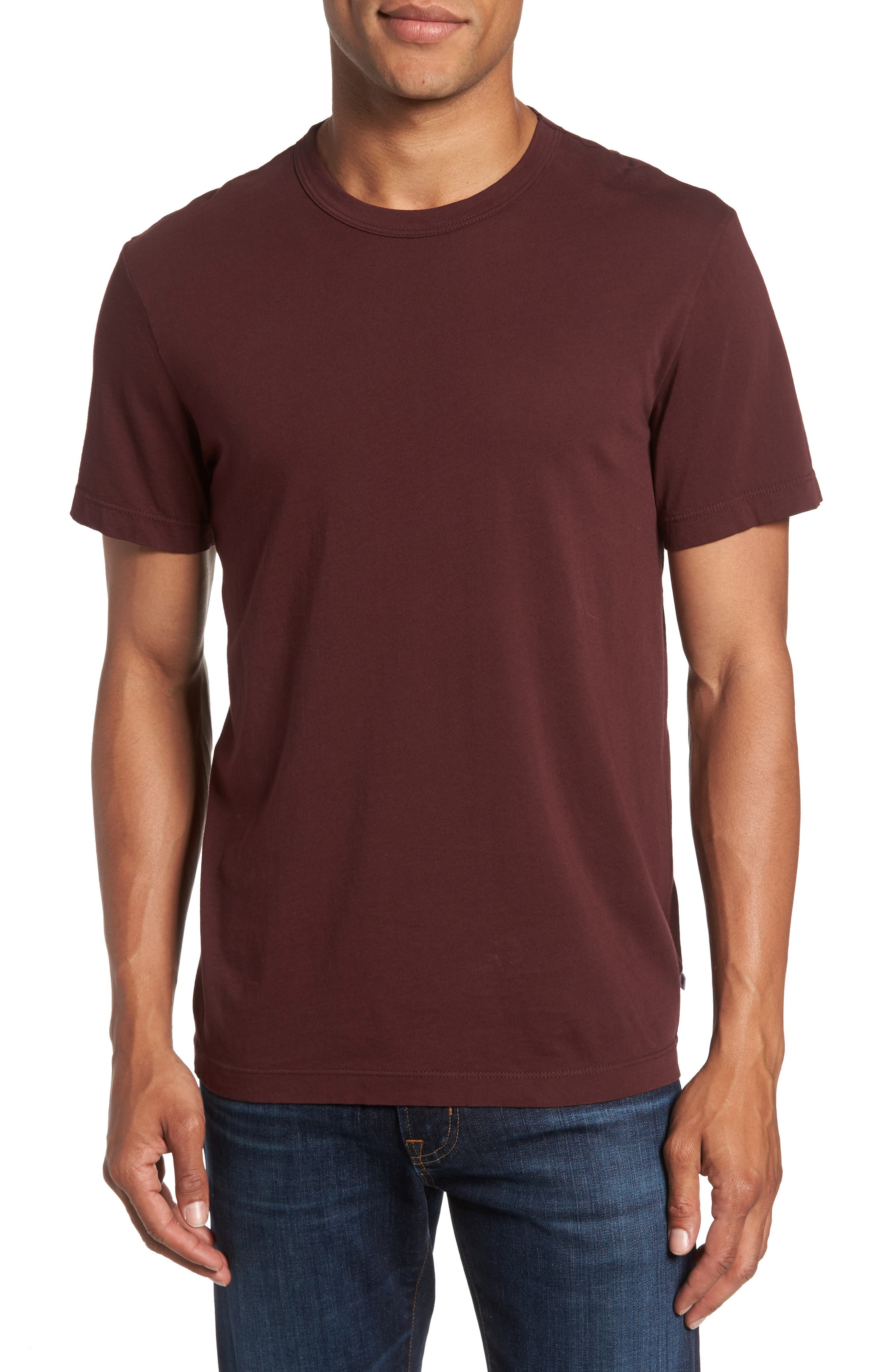 Crewneck Jersey T-Shirt,                             Alternate thumbnail 205, color,