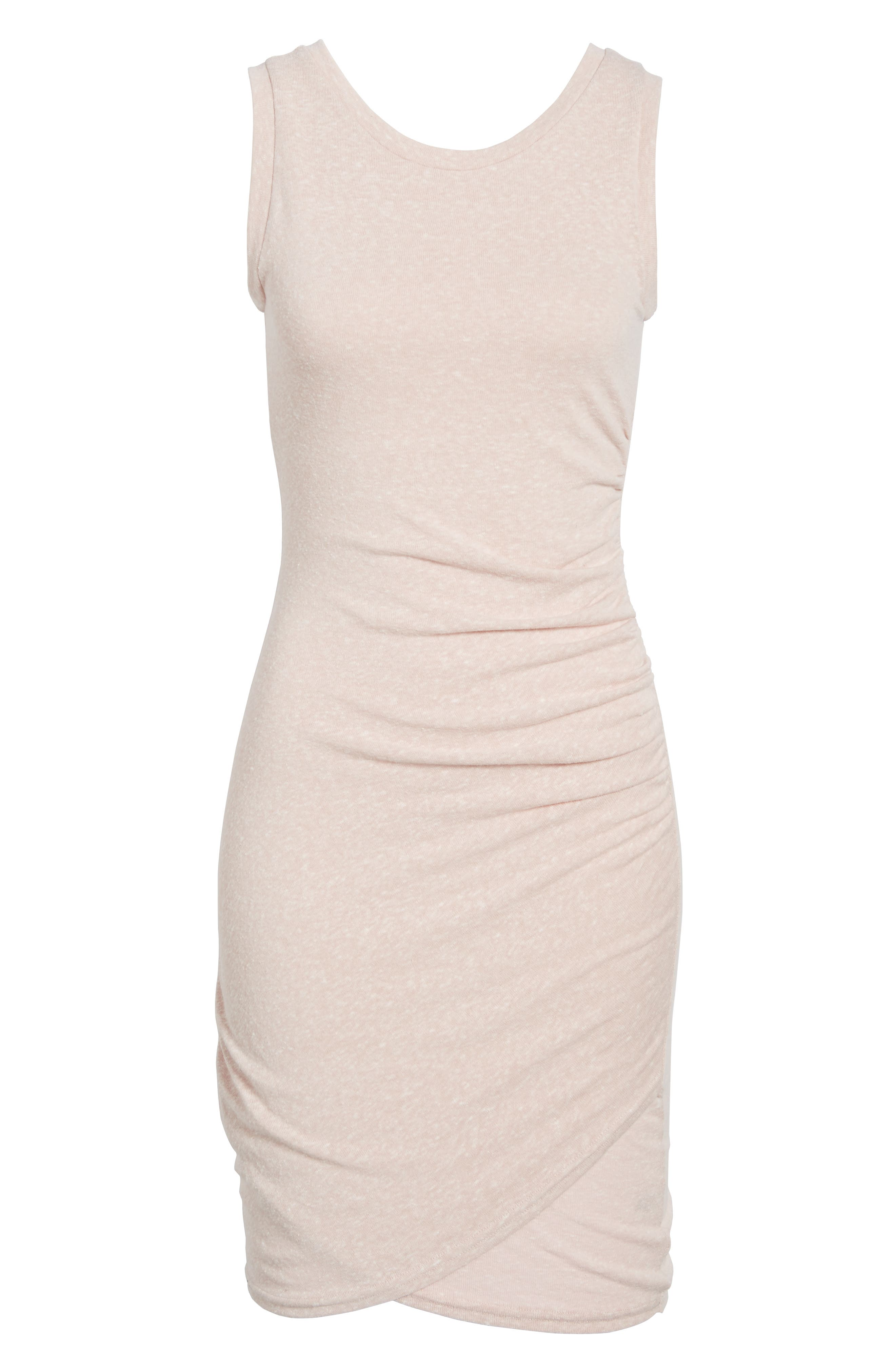 Ruched Body-Con Tank Dress,                             Alternate thumbnail 185, color,
