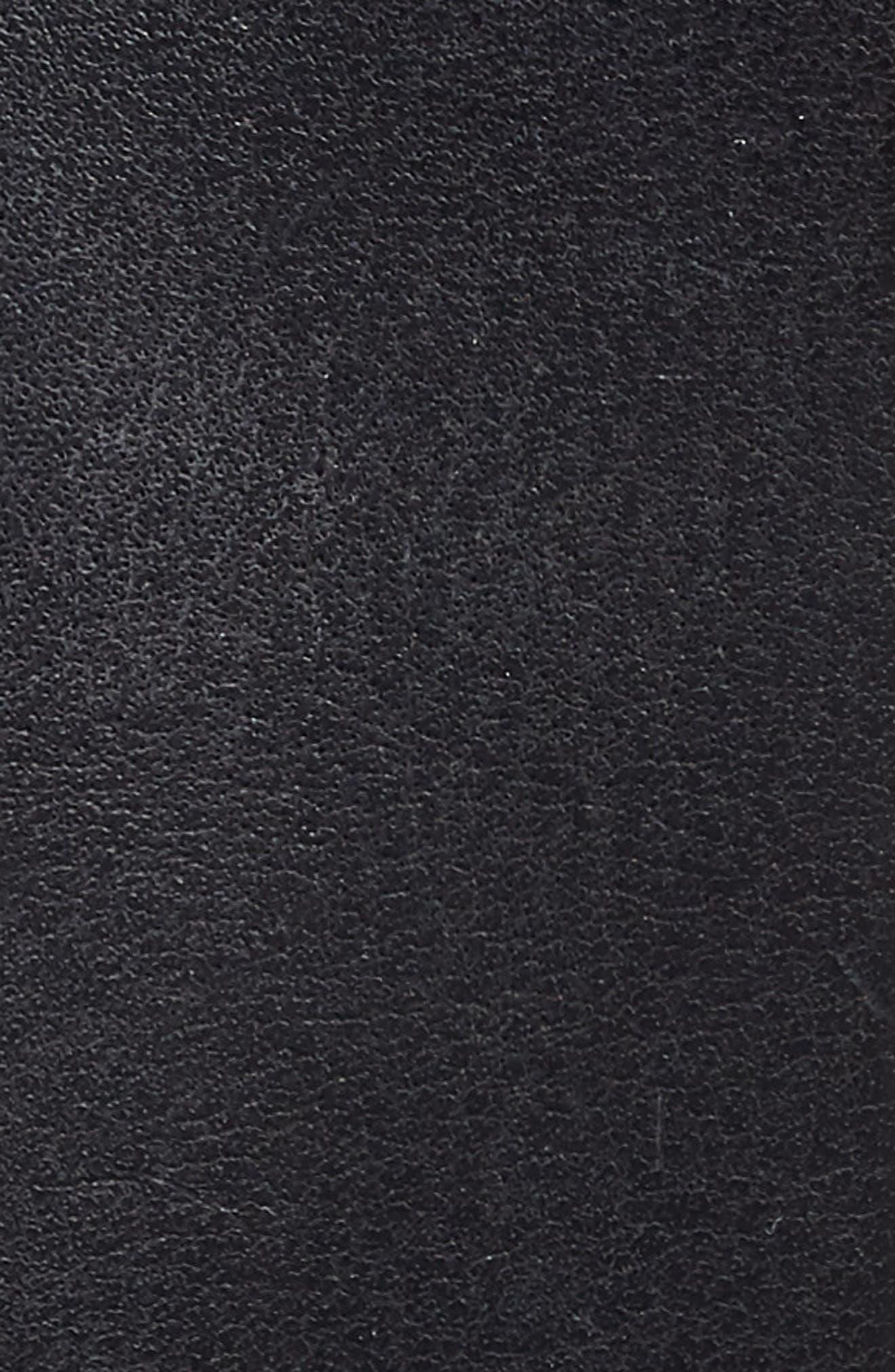 Engineer Leather Belt,                             Alternate thumbnail 3, color,                             001