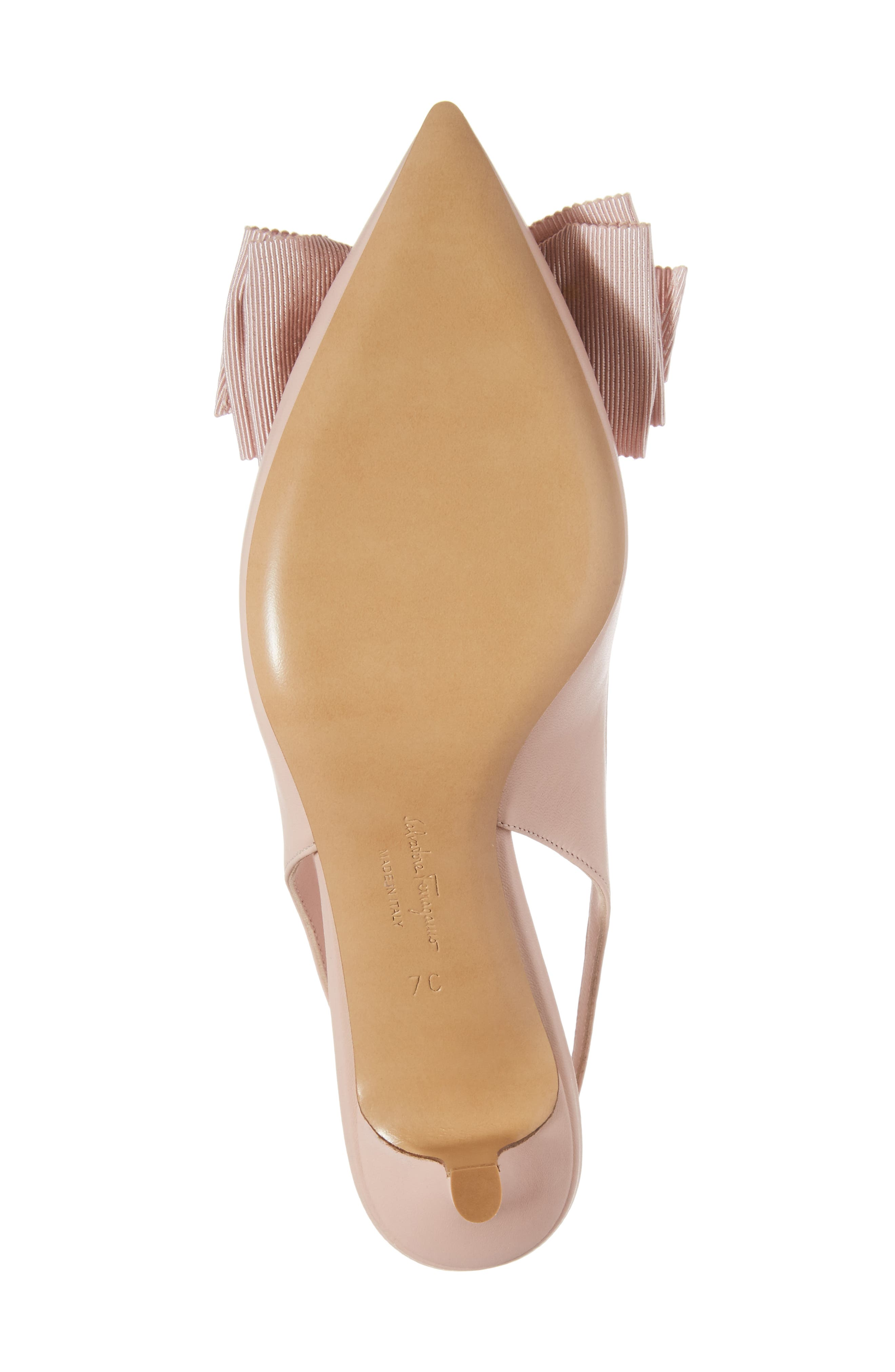 Laterina Slingback Pump,                             Alternate thumbnail 6, color,