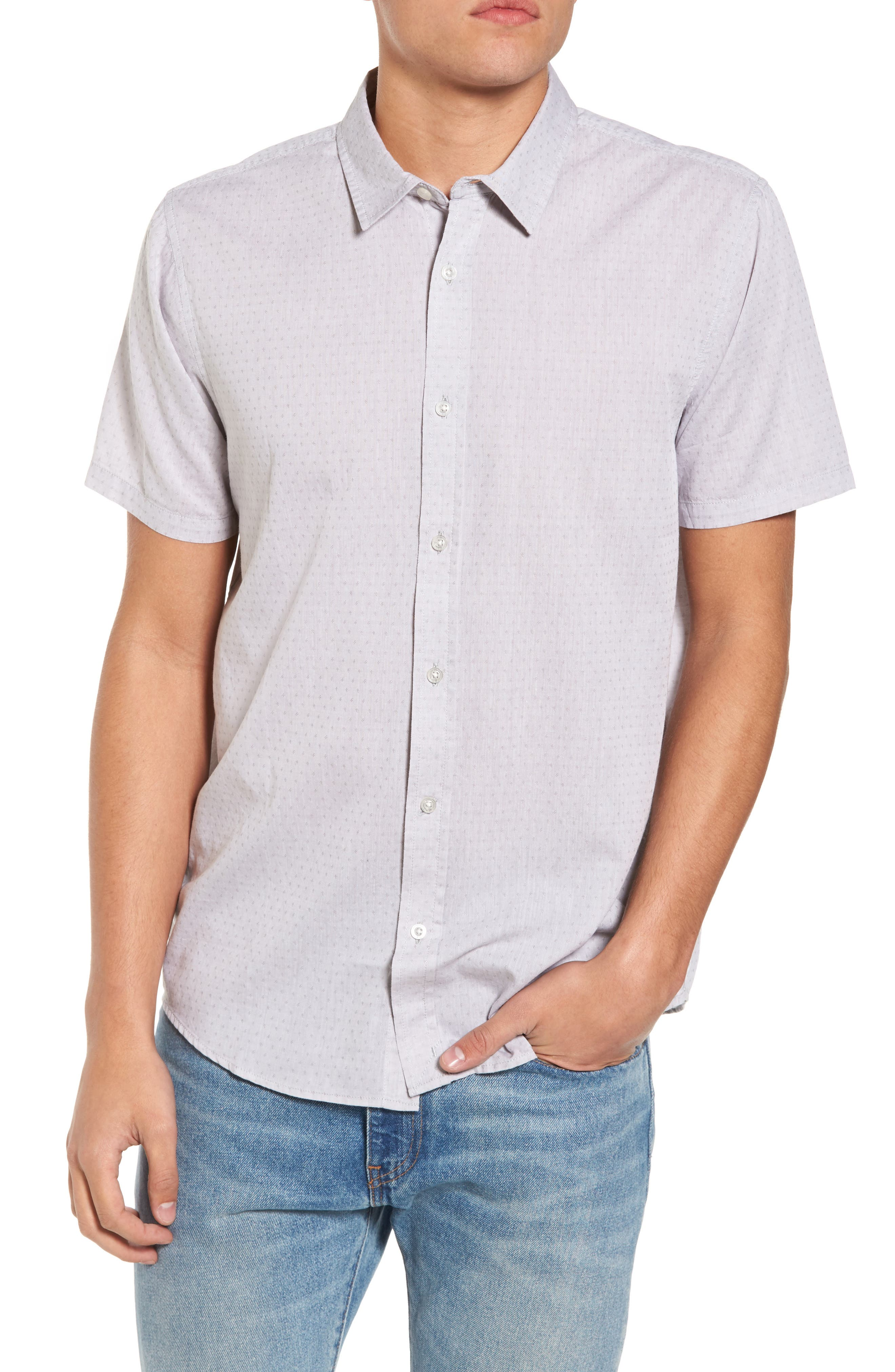 Clarke Woven Shirt,                             Main thumbnail 1, color,                             100