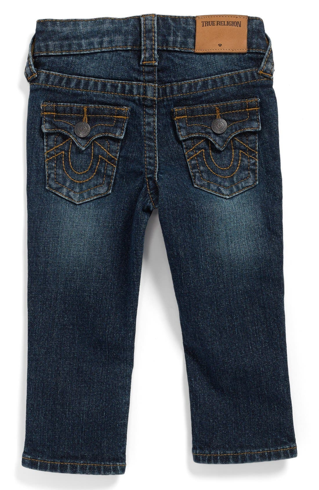 'Geno' Relaxed Slim Fit Classic Jeans,                             Alternate thumbnail 3, color,                             INDIGO BLAST
