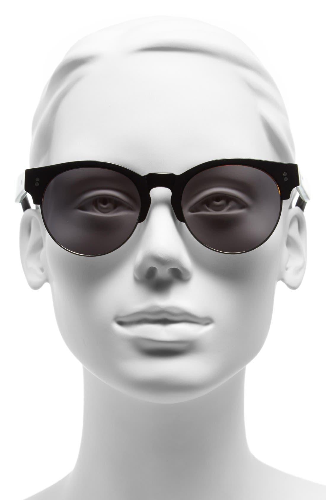 'Charlie Rae' 52mm Sunglasses,                             Alternate thumbnail 2, color,                             001