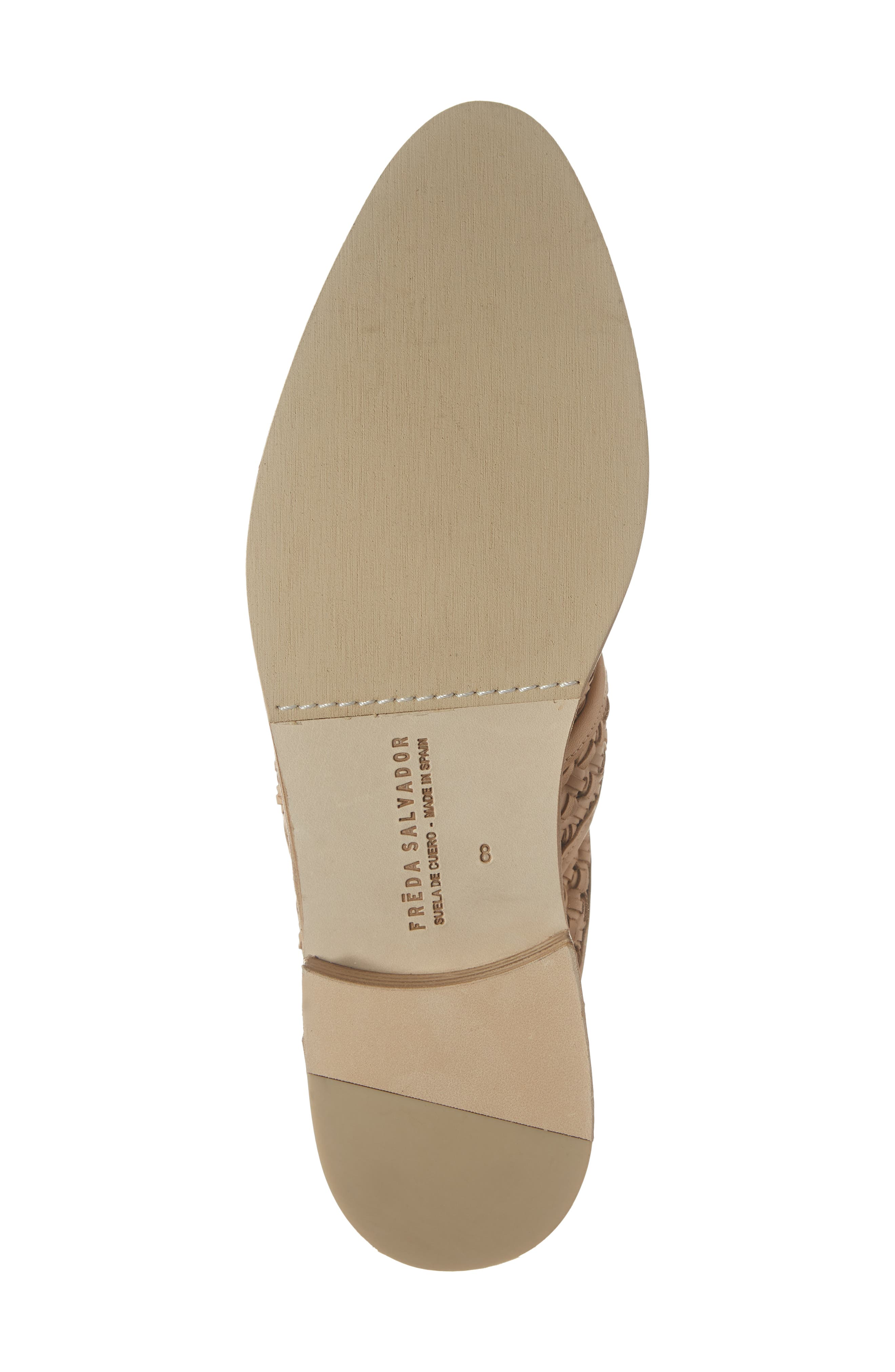 Keen Loafer Mule,                             Alternate thumbnail 6, color,                             NUDE WOVEN