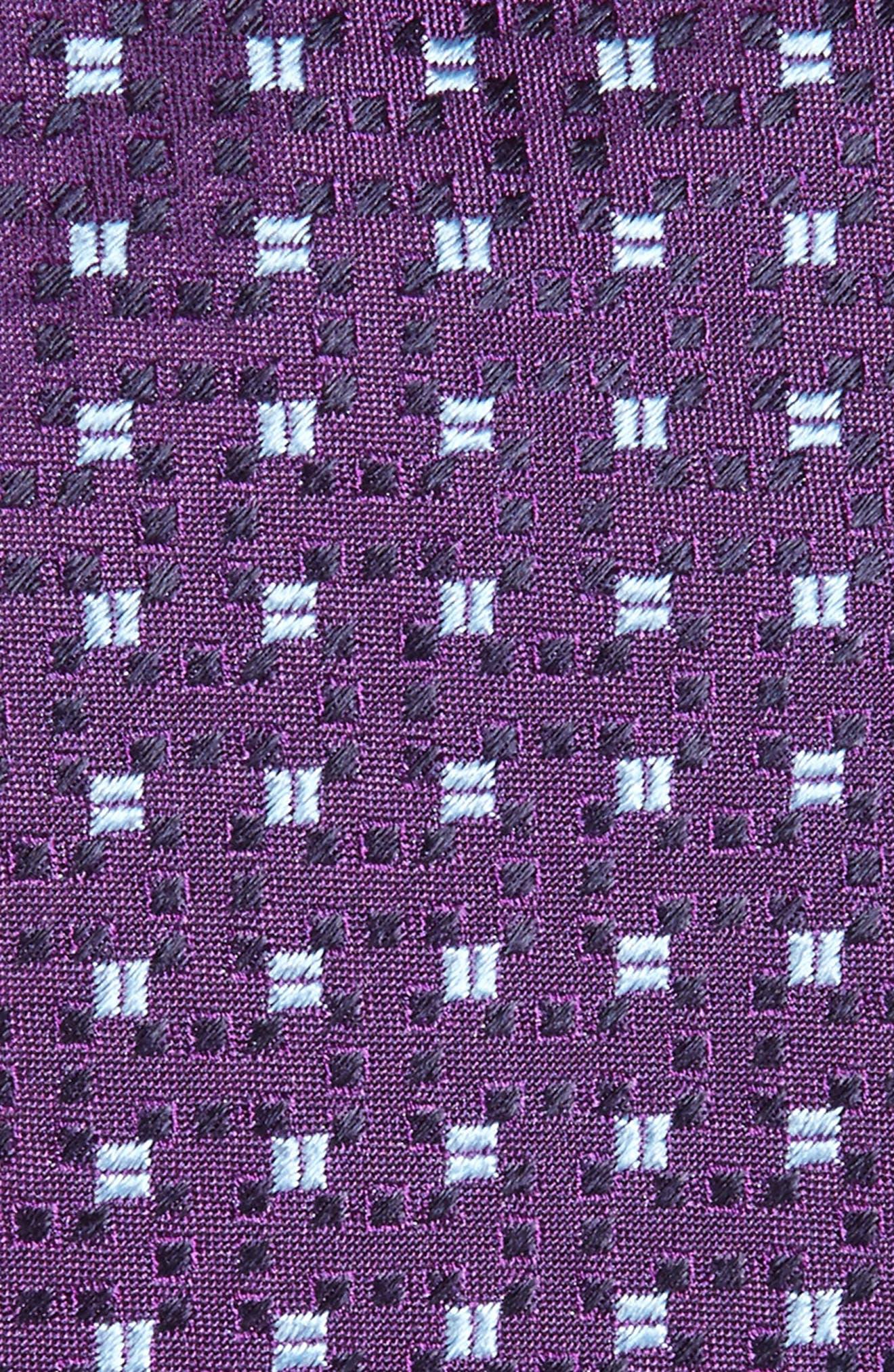 Geometric Silk Tie,                             Alternate thumbnail 2, color,                             511