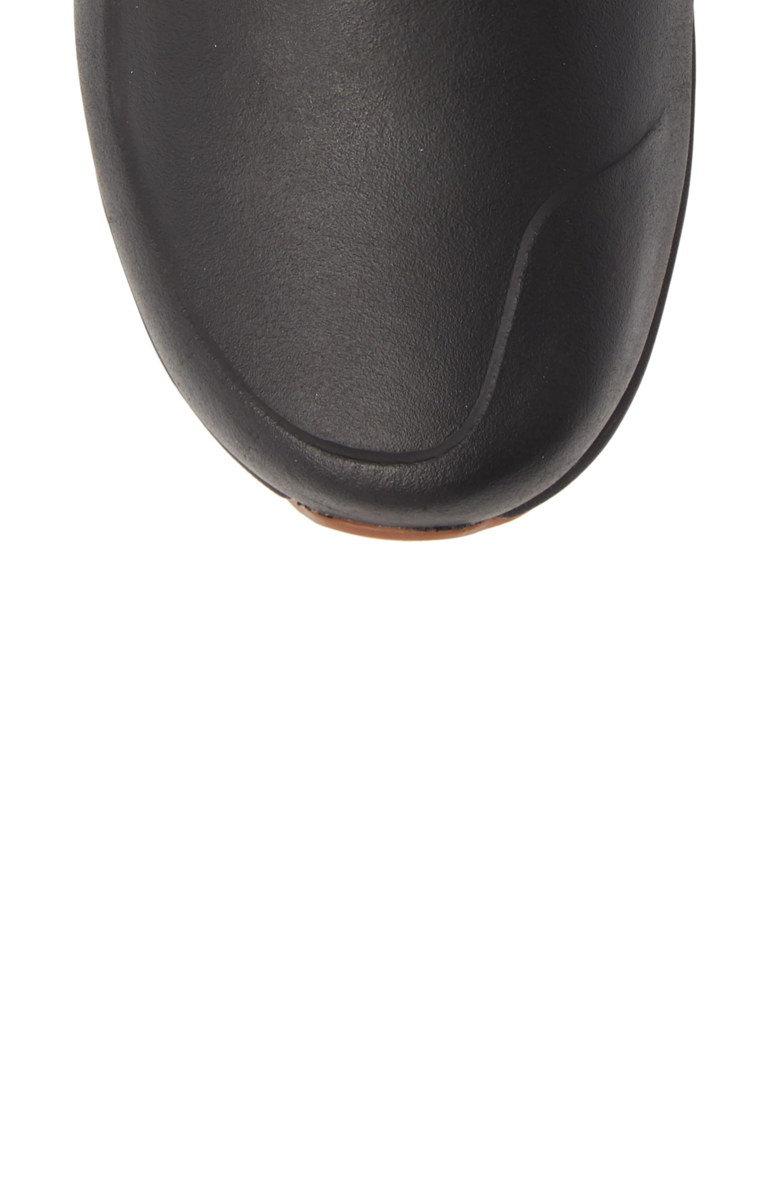 Yukiona Waterproof Winter Boot,                             Alternate thumbnail 5, color,                             BLACK/ BLACK