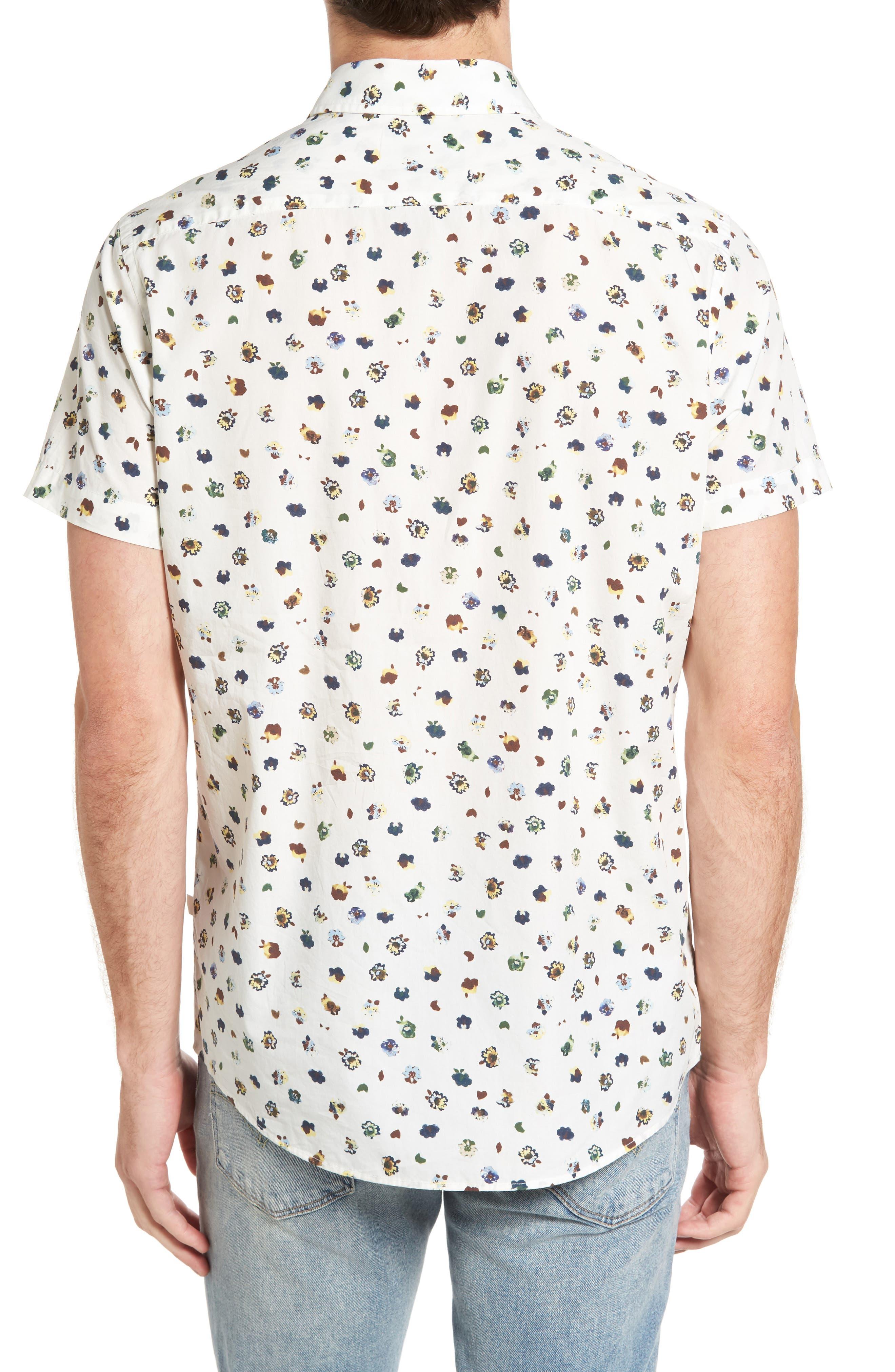 Linton Park Sports Fit Sport Shirt,                             Alternate thumbnail 2, color,                             101