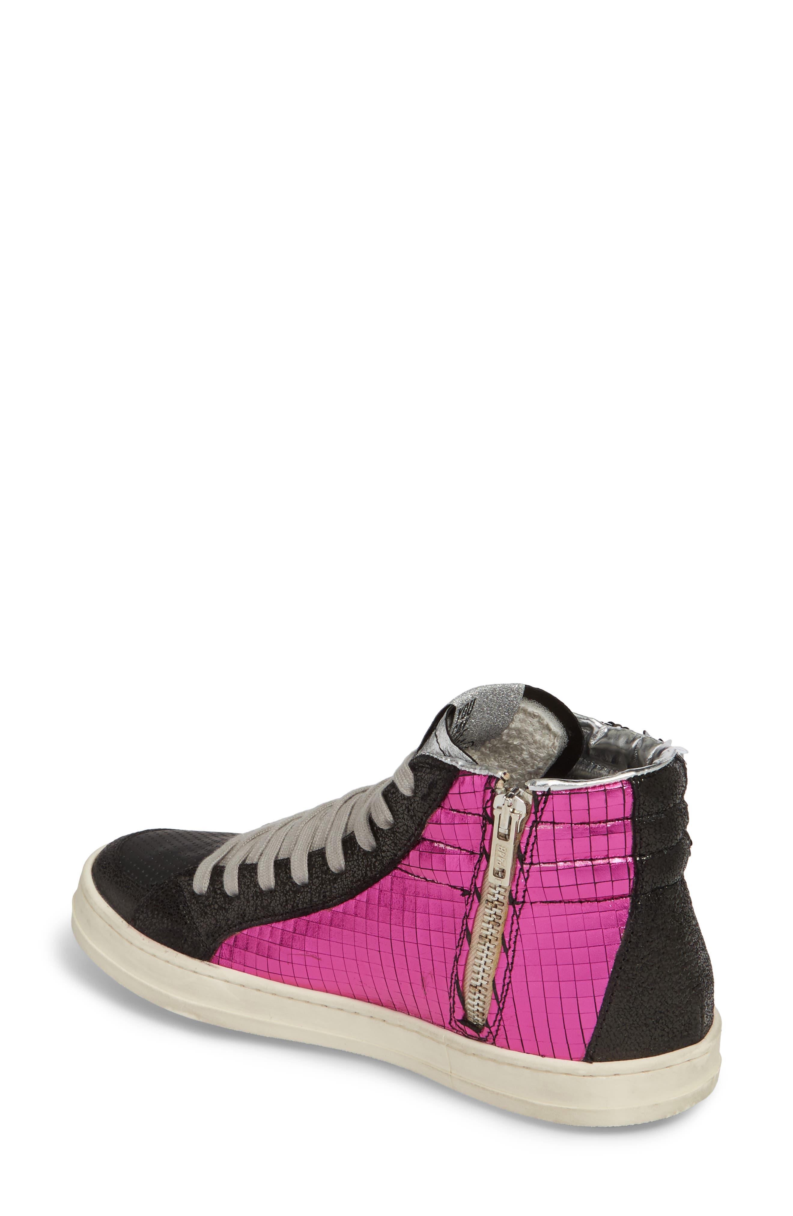 Skate Sequin High Top Sneaker,                             Alternate thumbnail 2, color,