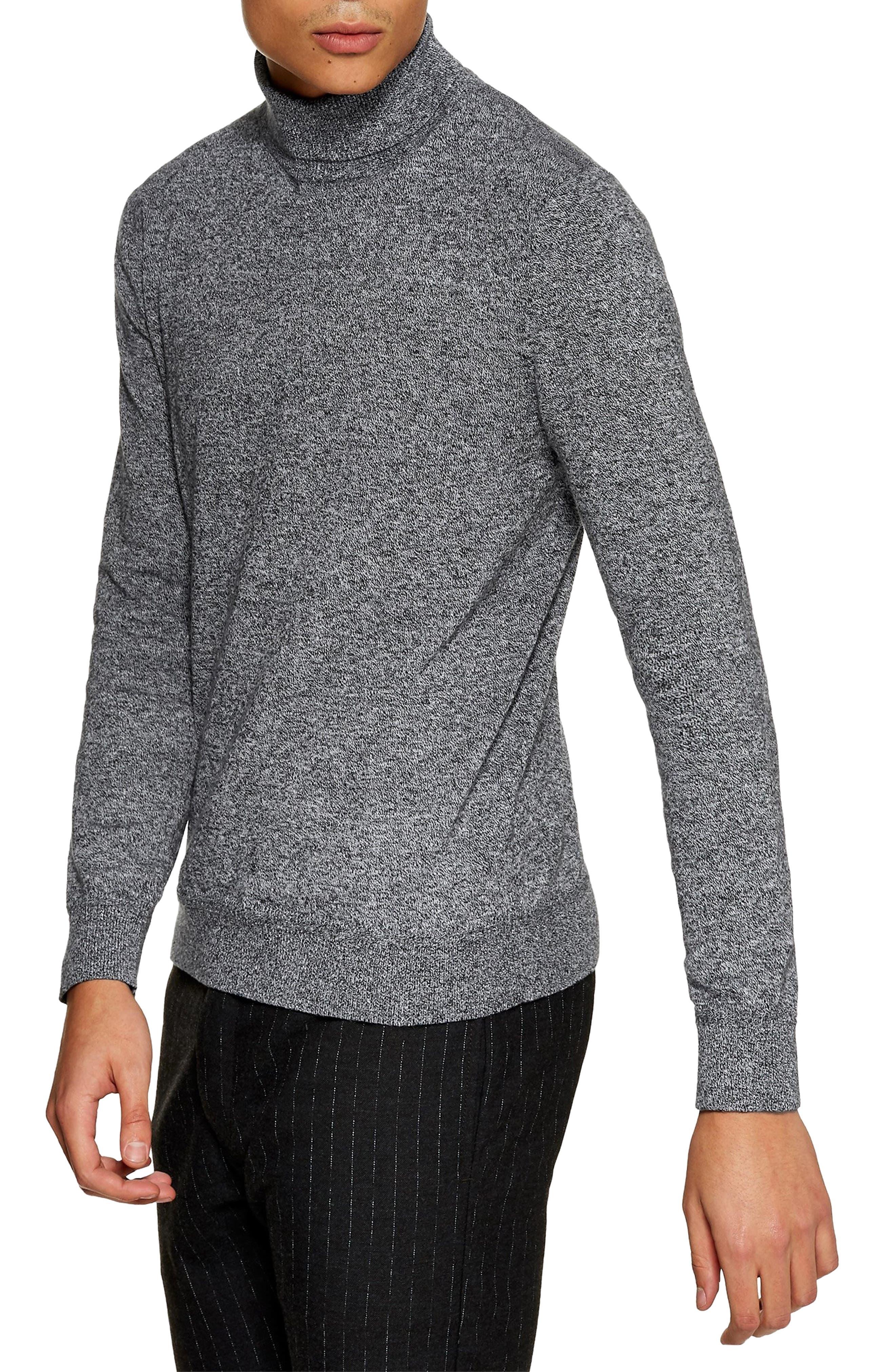 Classic Fit Turtleneck Sweater,                         Main,                         color, 020