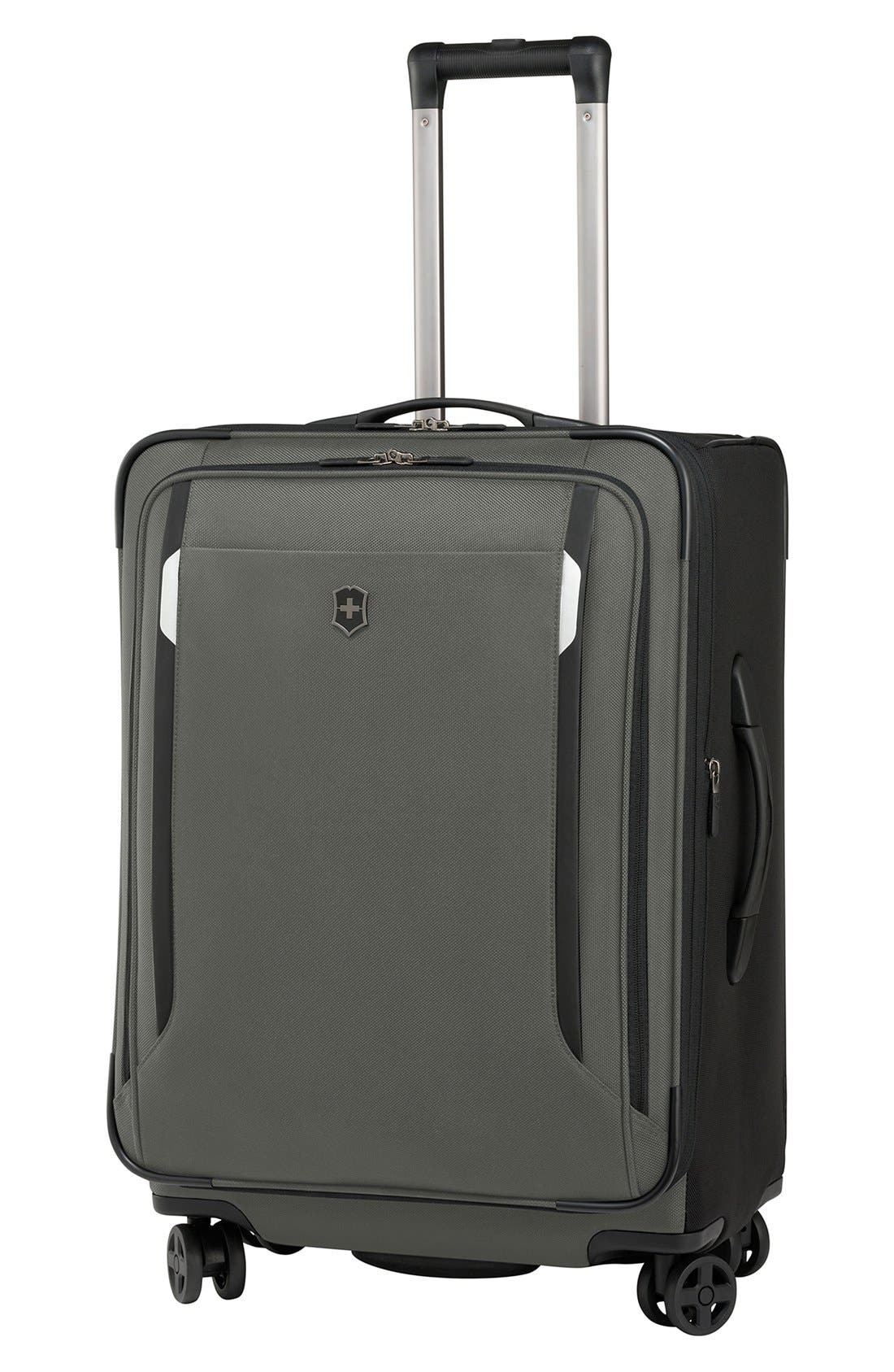 WT 5.0 Dual Caster Wheeled 24-Inch Packing Case,                             Main thumbnail 1, color,                             399