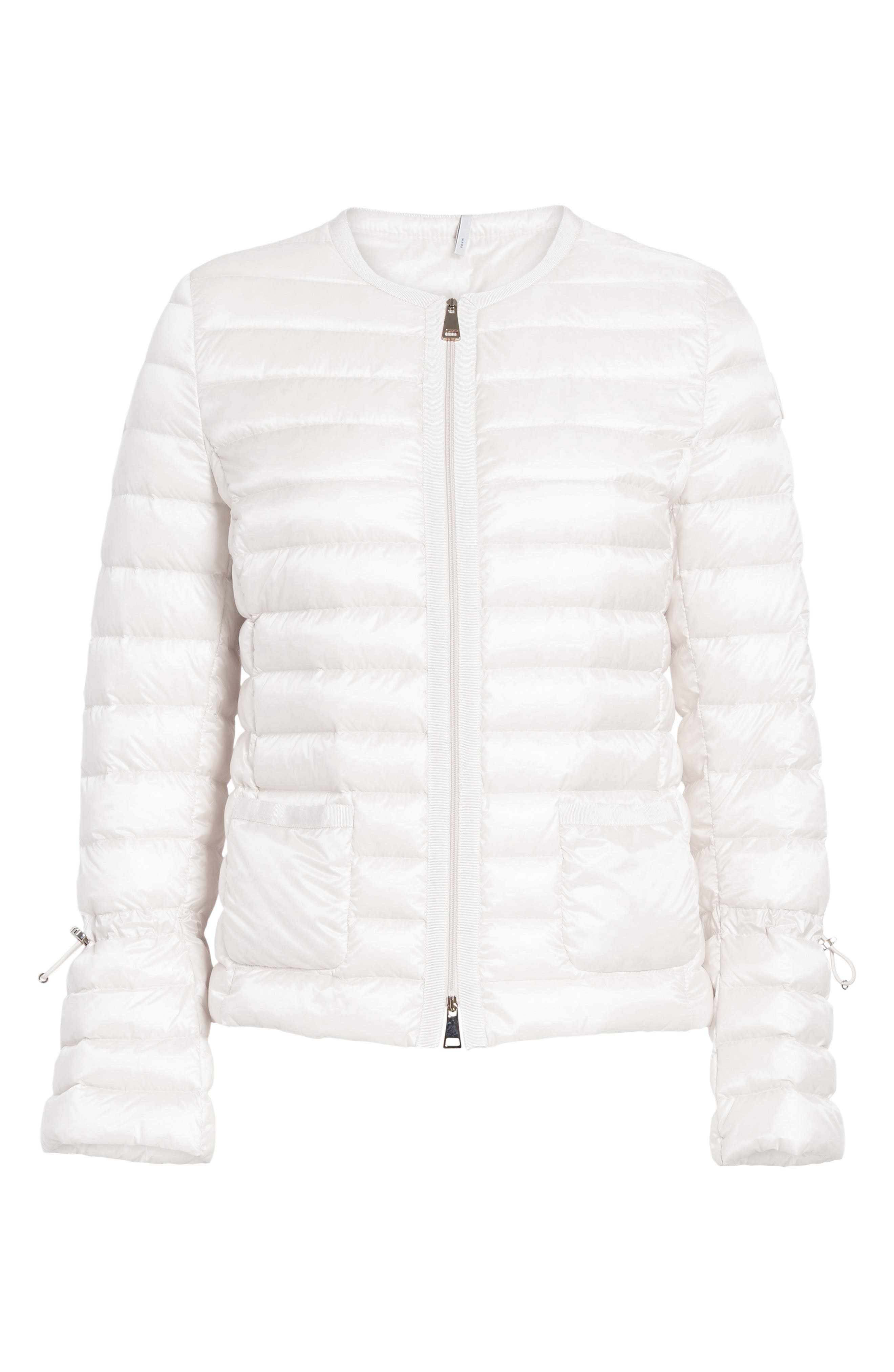 Almandin Quilted Puffer Jacket,                             Alternate thumbnail 5, color,                             101