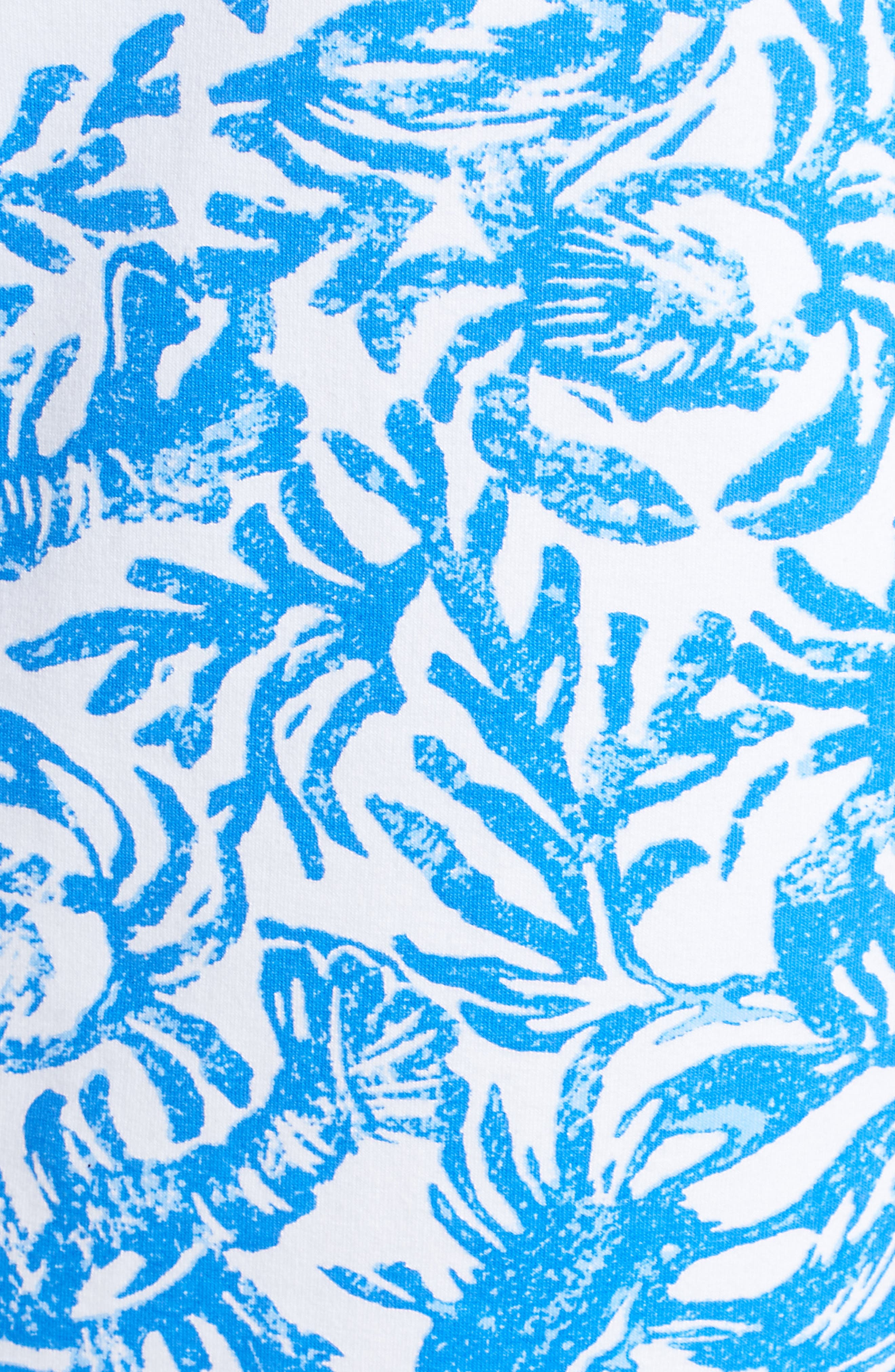 Skipper Sleeveless Shift Dress,                             Alternate thumbnail 5, color,                             RESORT WHITE ON A ROLL