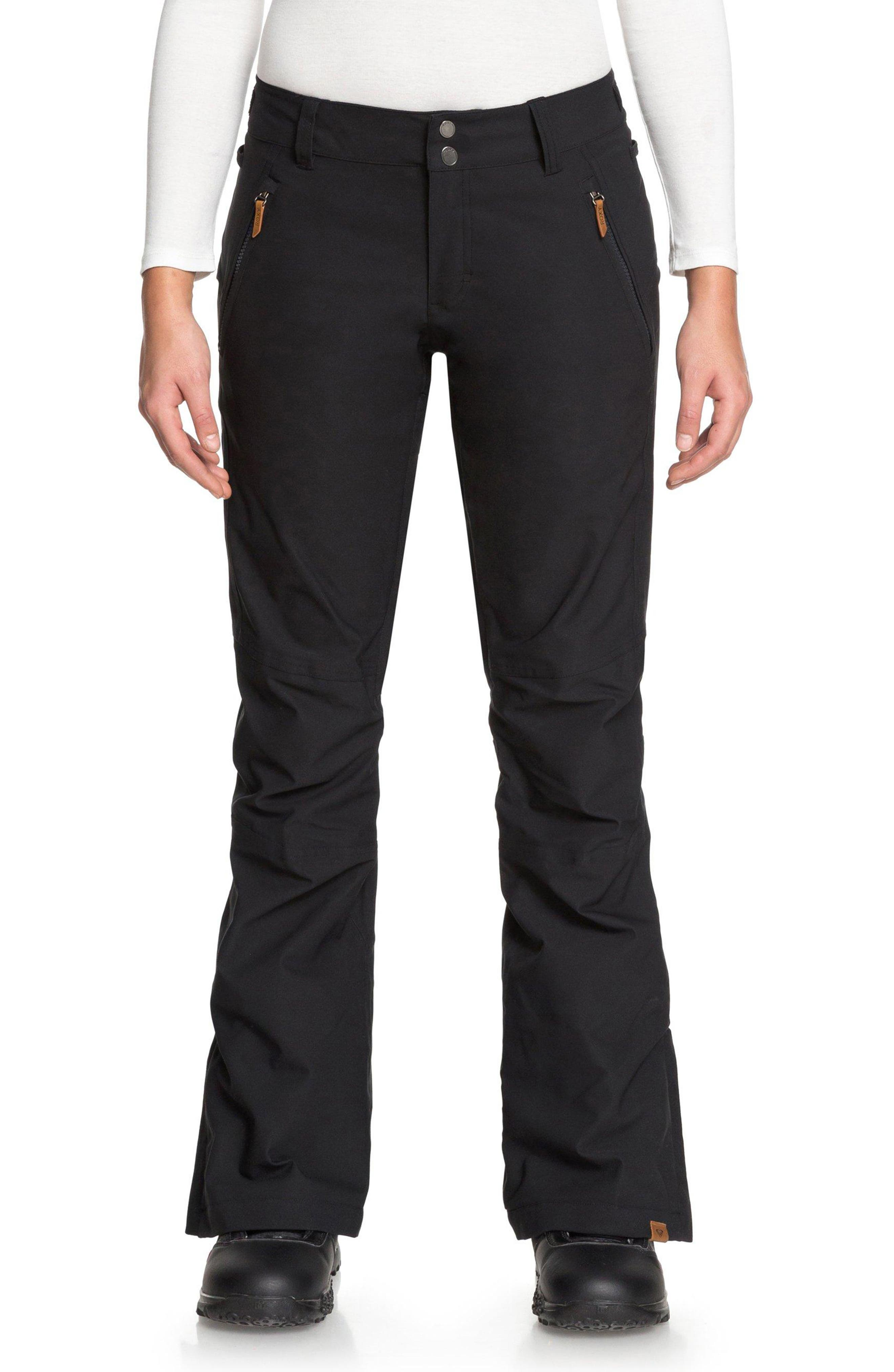 Cabin Snow Pants,                         Main,                         color, TRUE BLACK