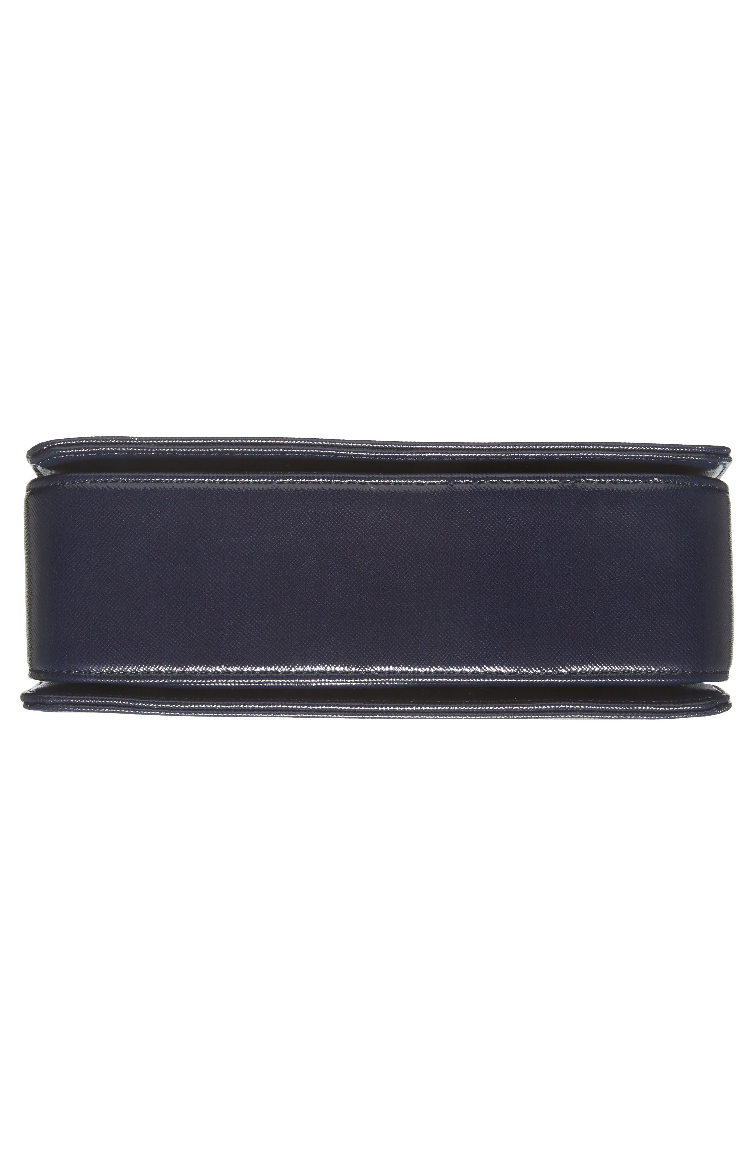 Tilleyy Gardenia Faux Leather Crossbody Bag,                             Alternate thumbnail 6, color,                             402