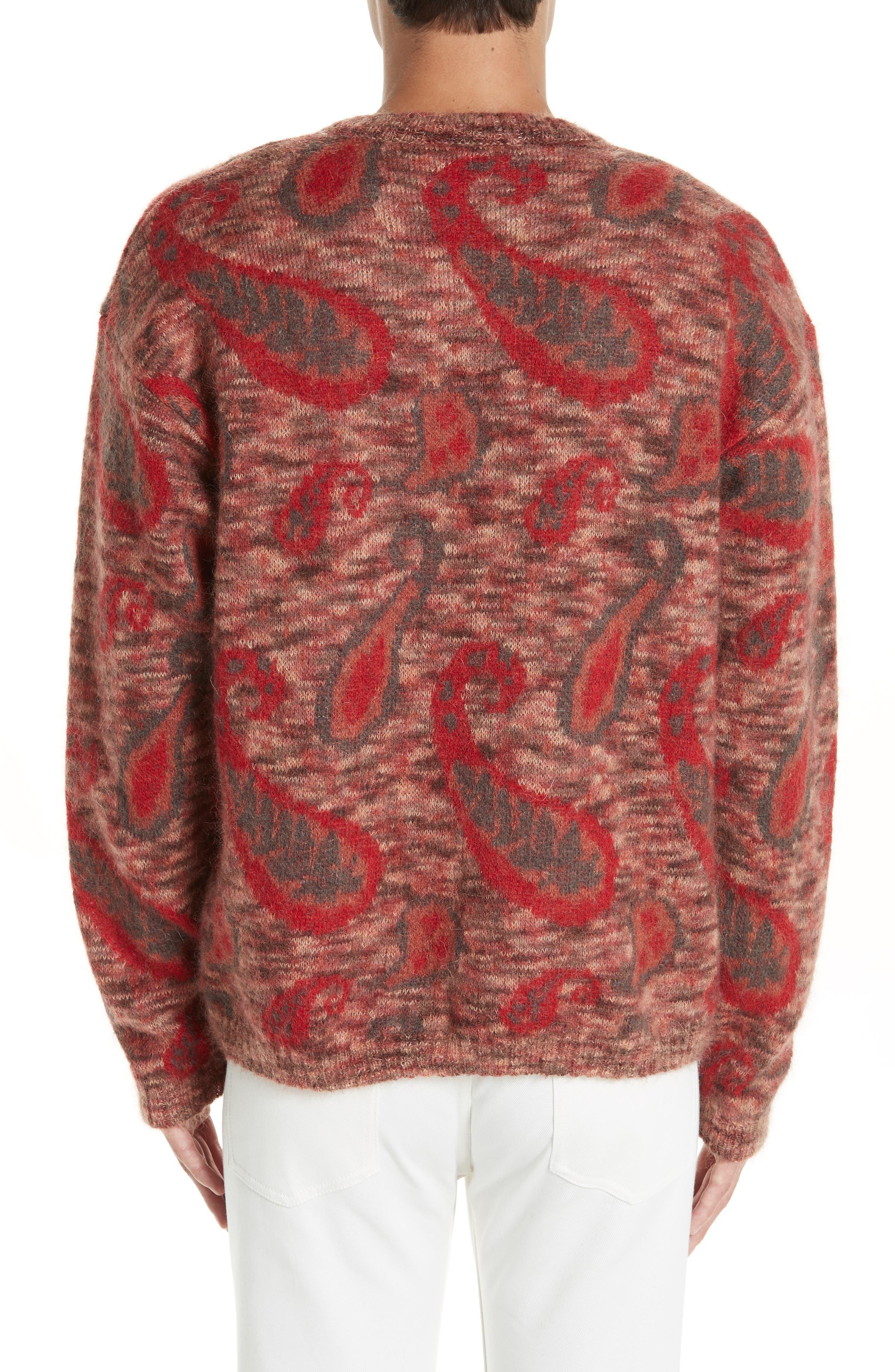 Mohair Blend Paisley Sweater,                             Alternate thumbnail 2, color,                             600