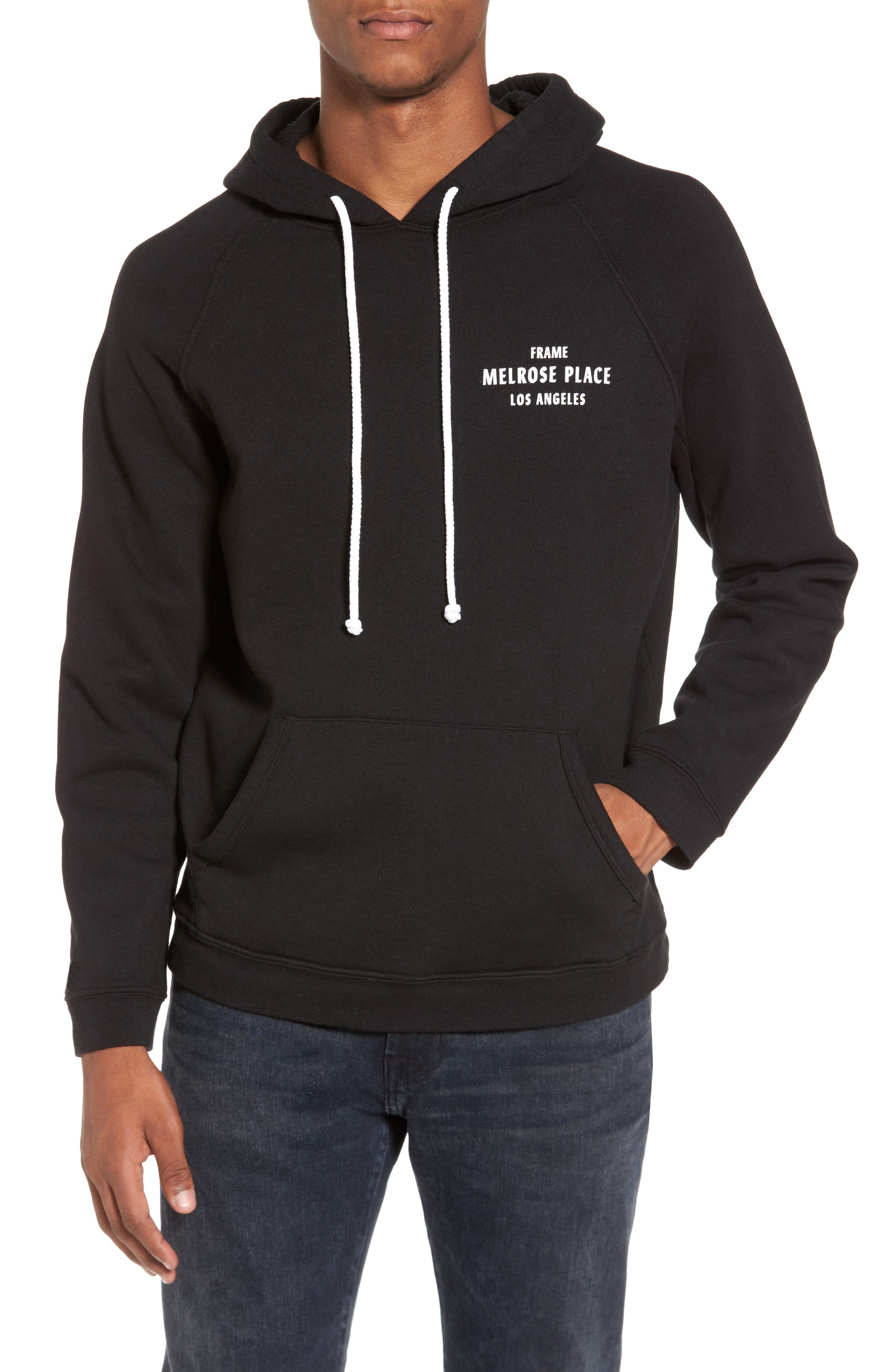 Vintage Pullover Hoodie,                             Main thumbnail 1, color,                             001