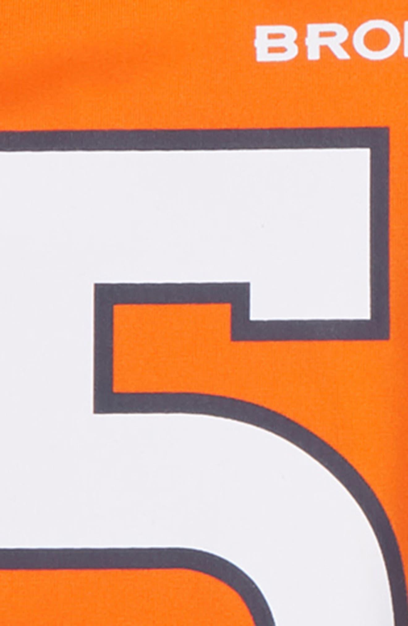 NFL Logo Denver Broncos Von Miller Jersey,                             Alternate thumbnail 3, color,                             ORANGE