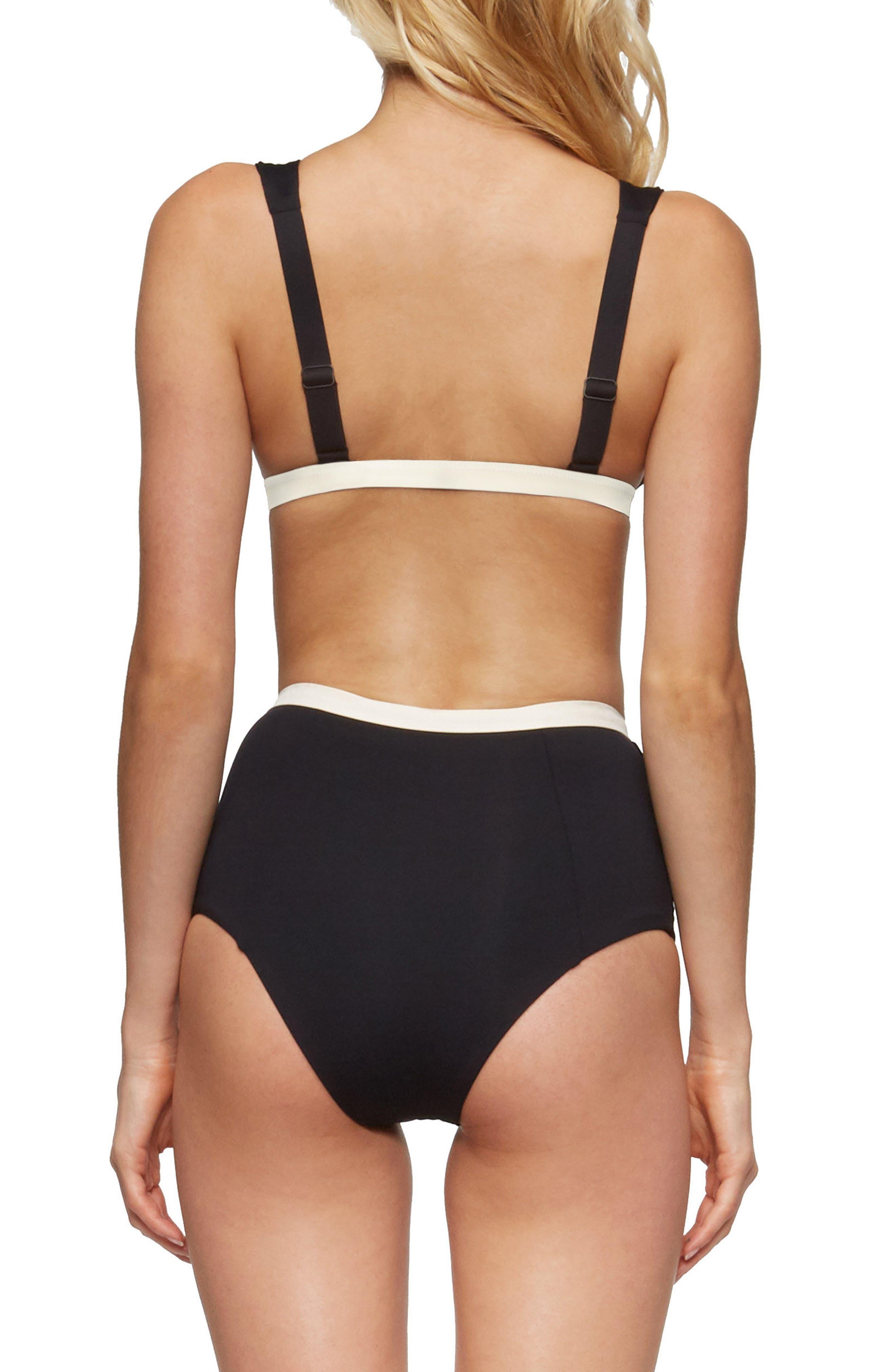 Caroline Bikini Top,                             Alternate thumbnail 8, color,                             001