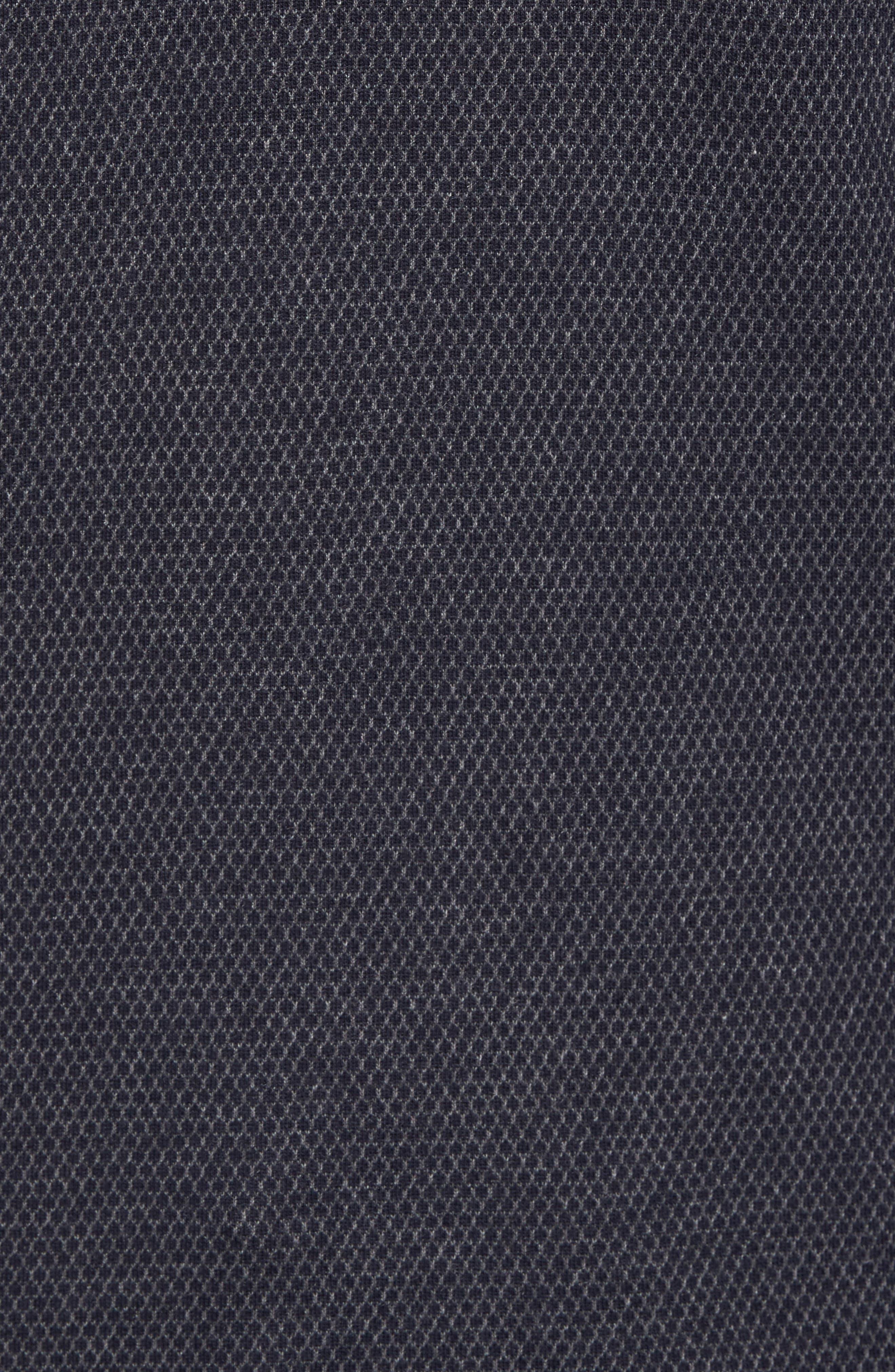 Woolpak Trim Fit Mouliné Polo,                             Alternate thumbnail 9, color,