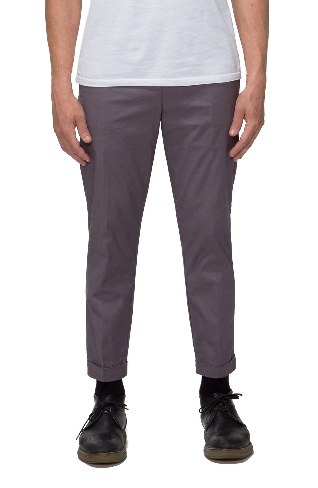 'Arroyo' Crop Stretch Chinos,                             Main thumbnail 2, color,