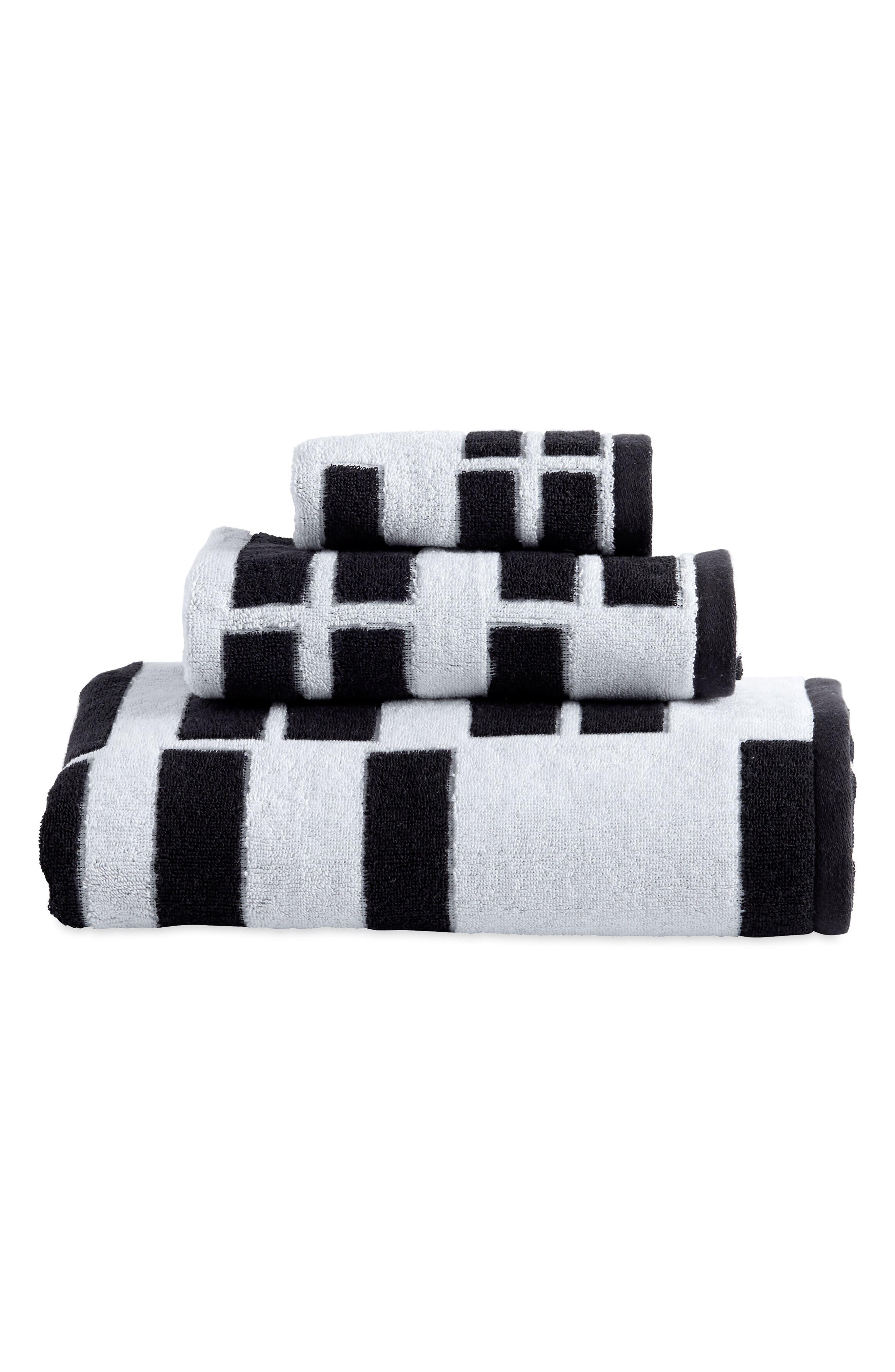 High Rise Fingertip Towel,                             Main thumbnail 1, color,                             001