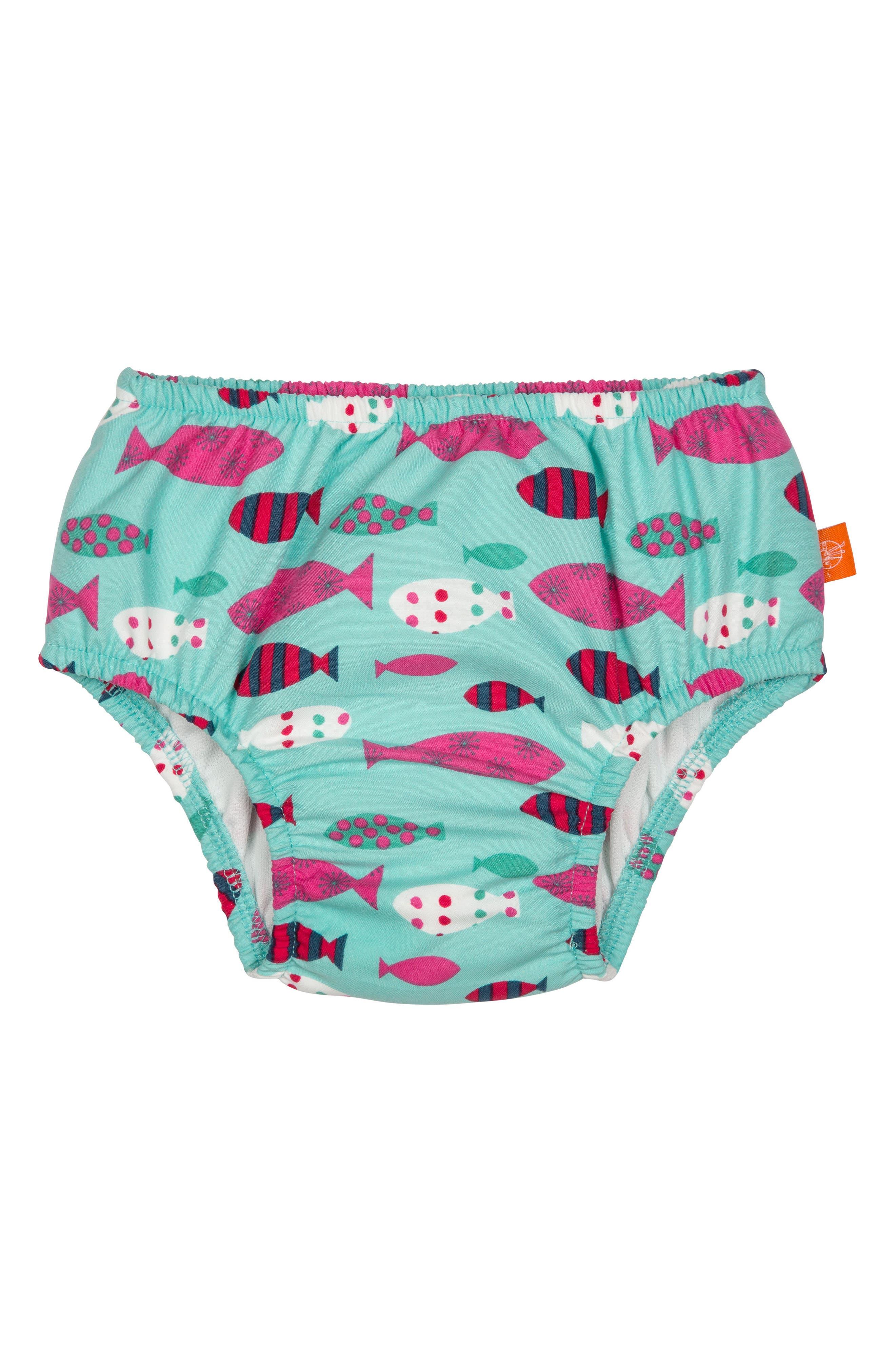 Mr. Fish Swim Diaper Cover,                             Main thumbnail 1, color,
