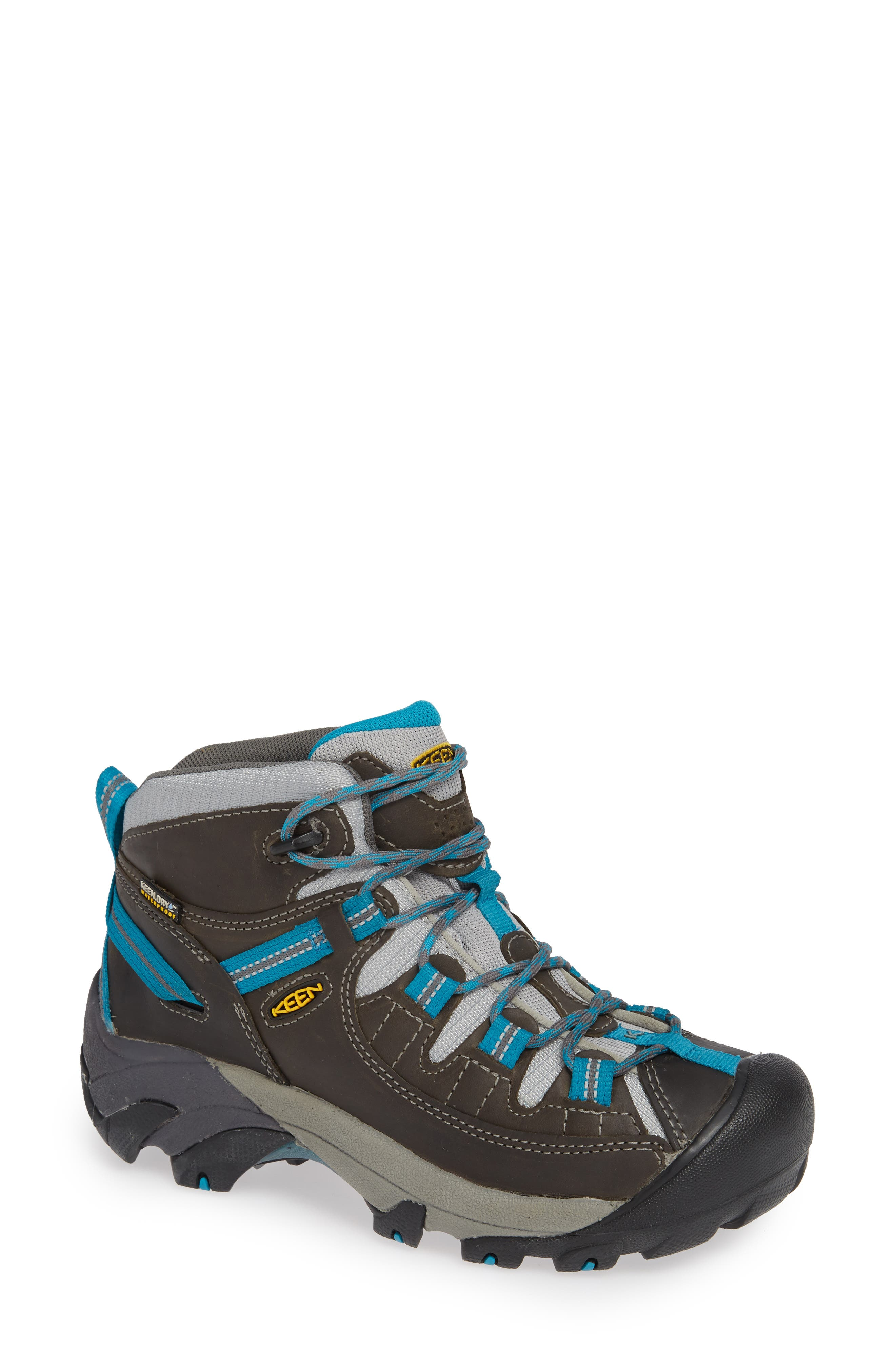 Keen Targhee Ii Mid Waterproof Hiking Boot- Grey