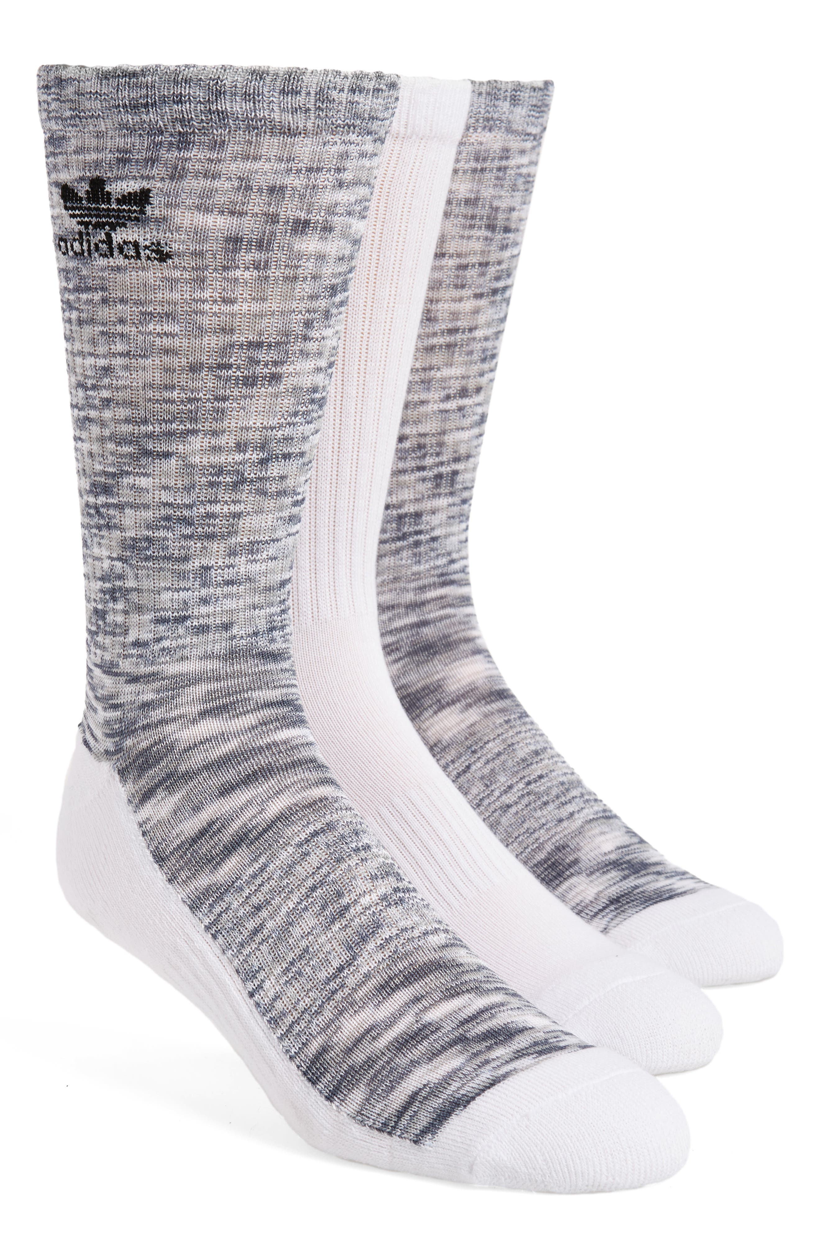 3-Pack Space Dye Crew Socks,                             Main thumbnail 2, color,