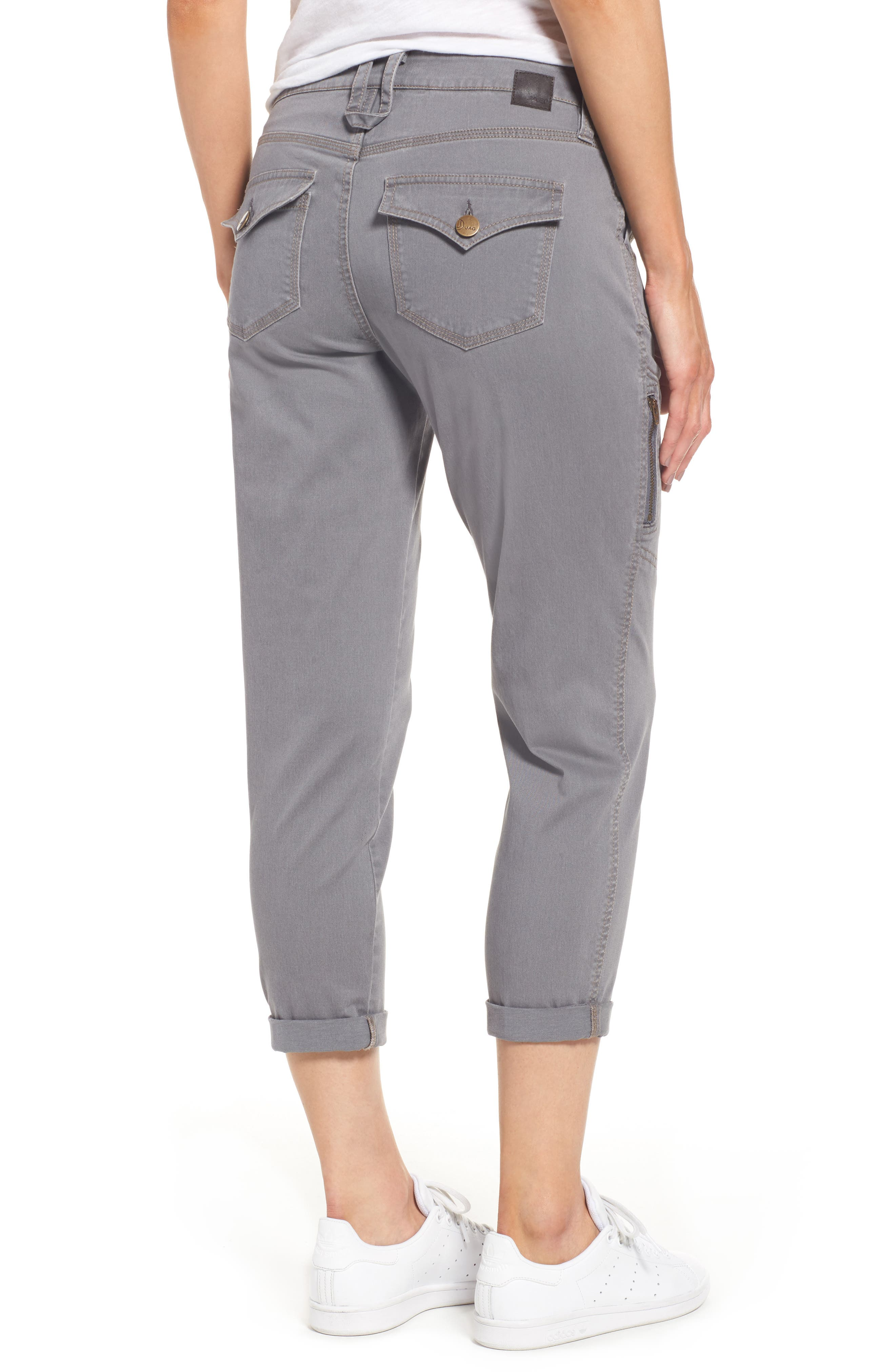 Gable Stretch Twill Utility Pants,                             Alternate thumbnail 8, color,