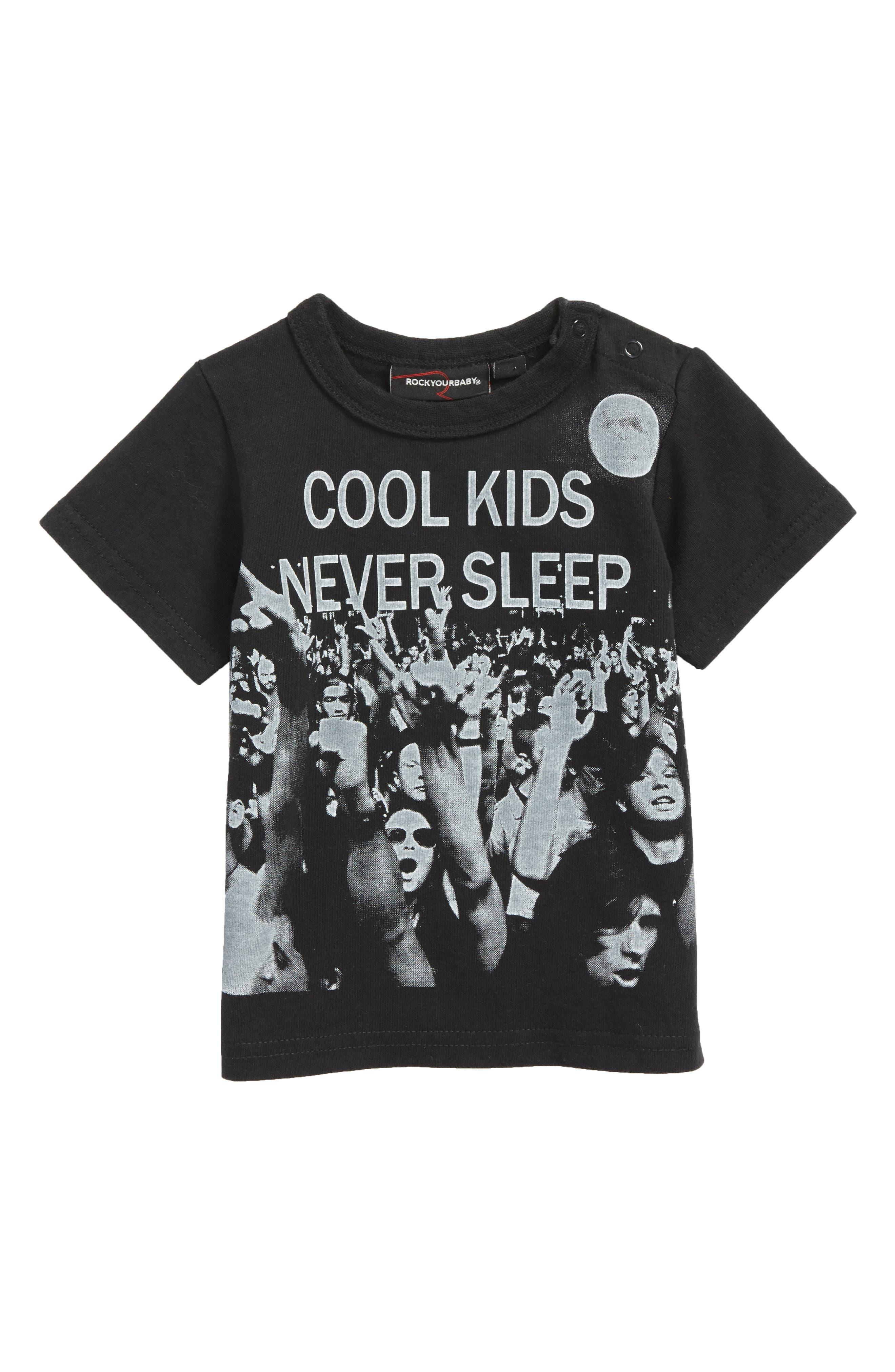 Cool Kids Graphic T-Shirt,                             Main thumbnail 1, color,                             001