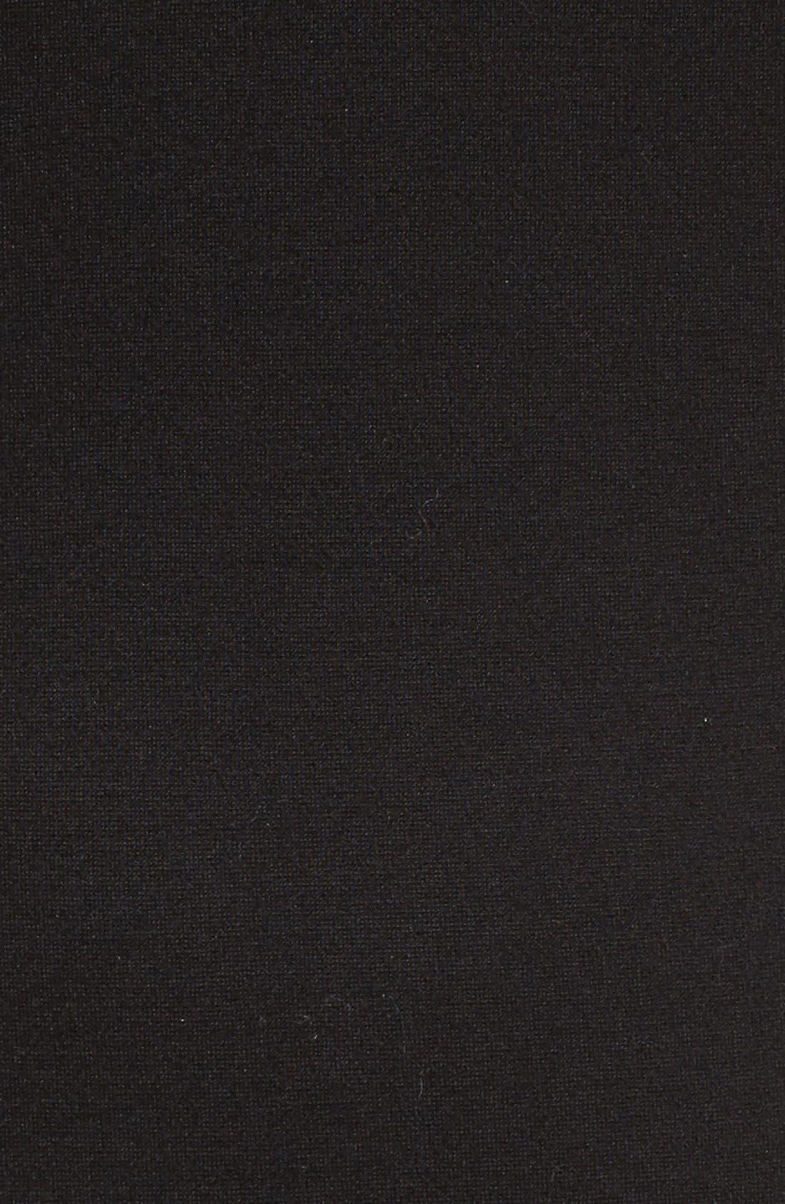 Lace & Ponte Dress,                             Alternate thumbnail 10, color,                             001