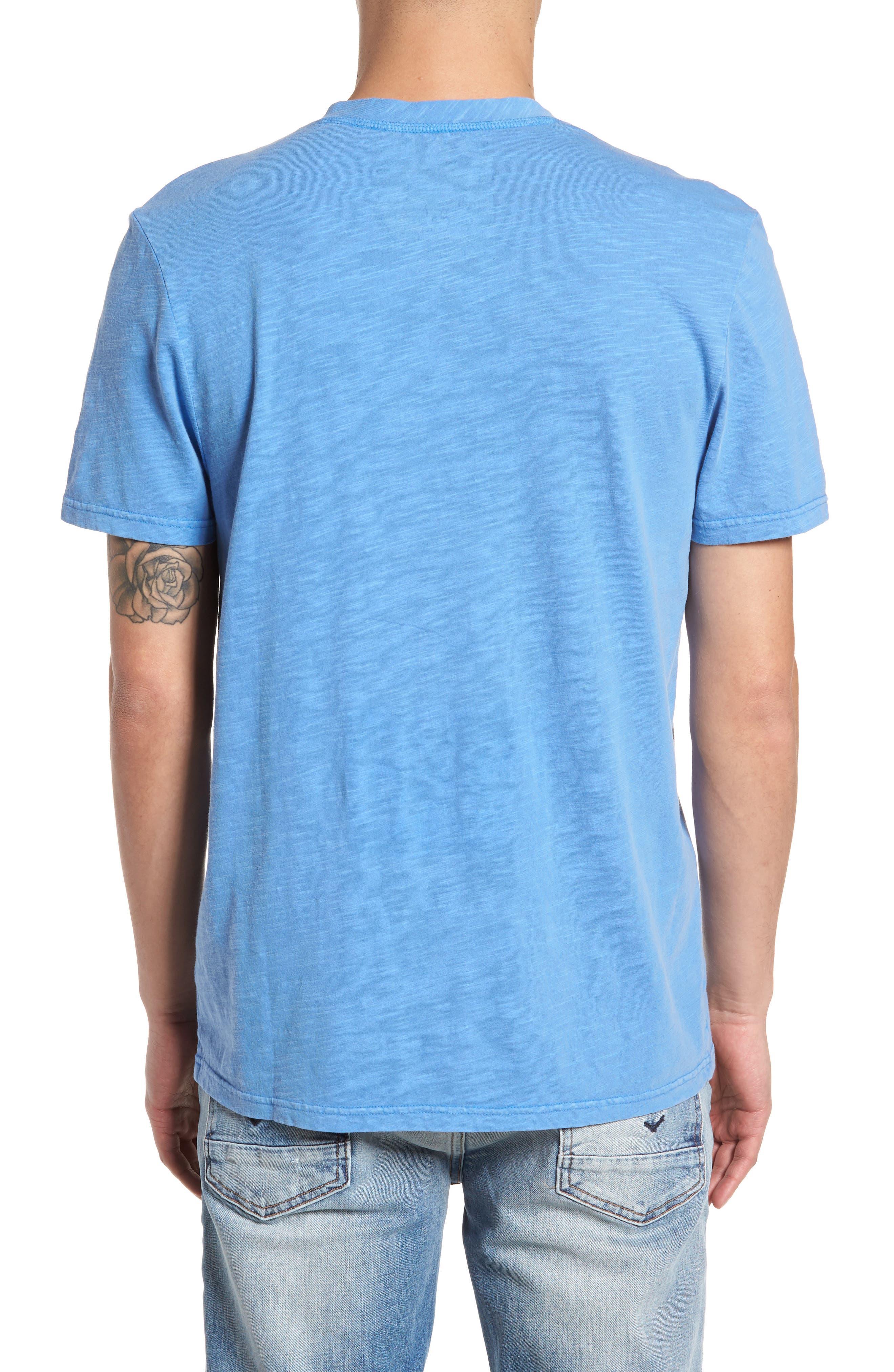 Garment Dye Slub Knit Henley,                             Alternate thumbnail 10, color,