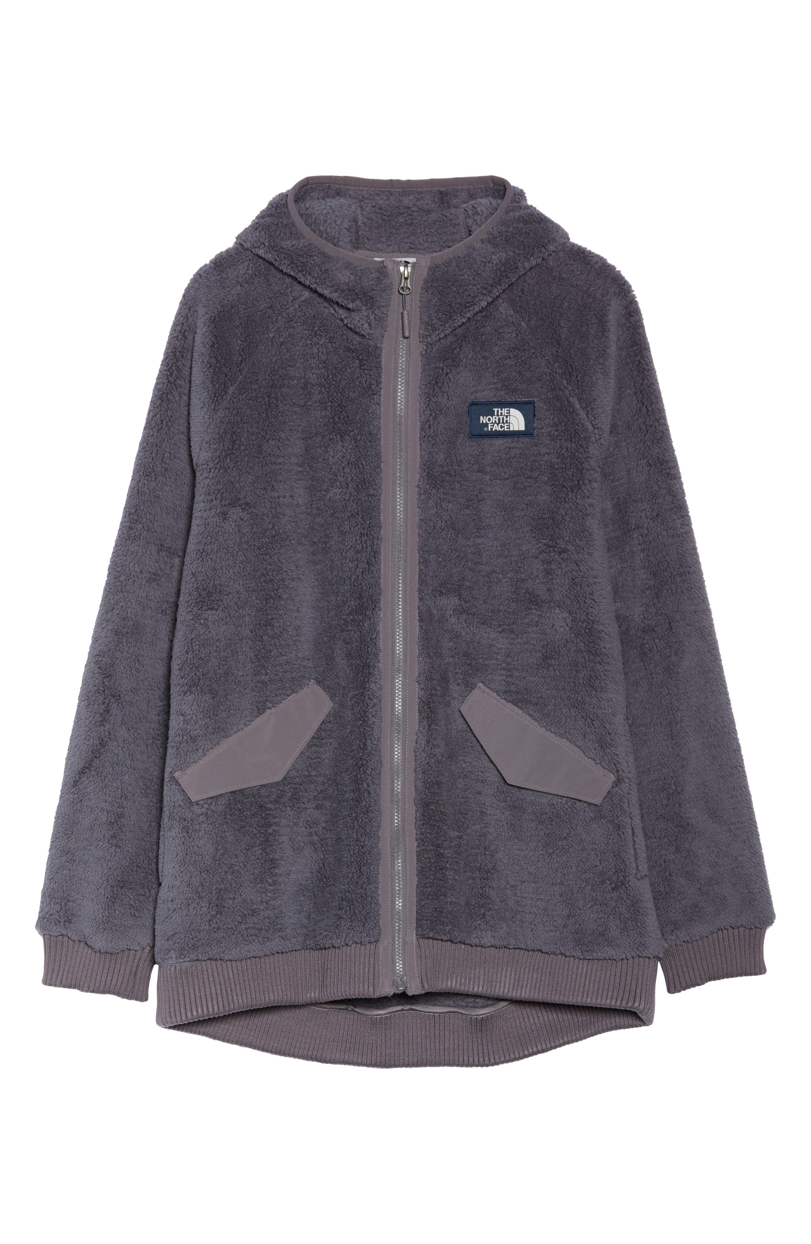 Campshire Bomber Jacket,                             Alternate thumbnail 6, color,                             RABBIT GREY
