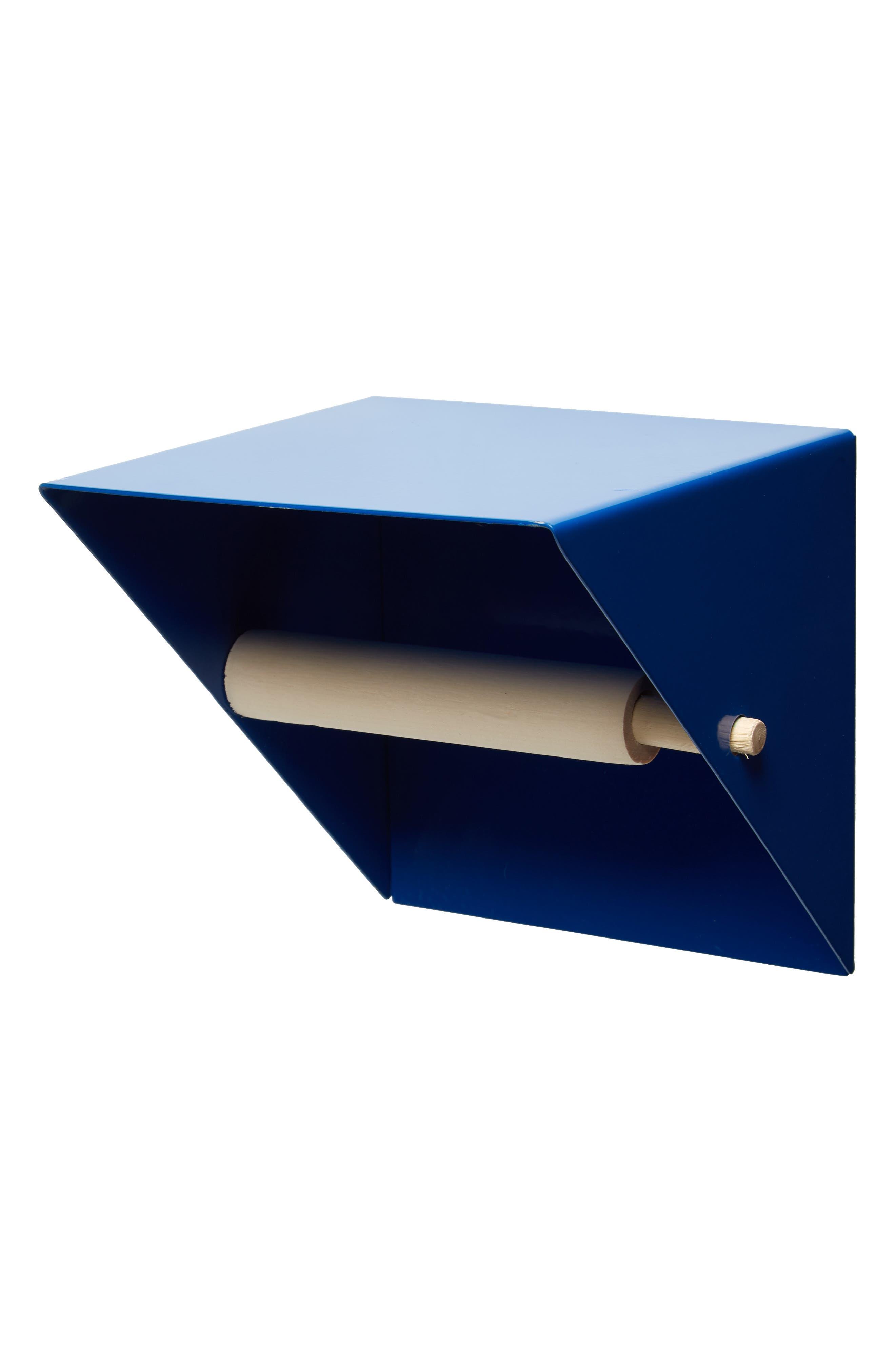 Toilet Paper Holder,                             Main thumbnail 1, color,                             BLUE