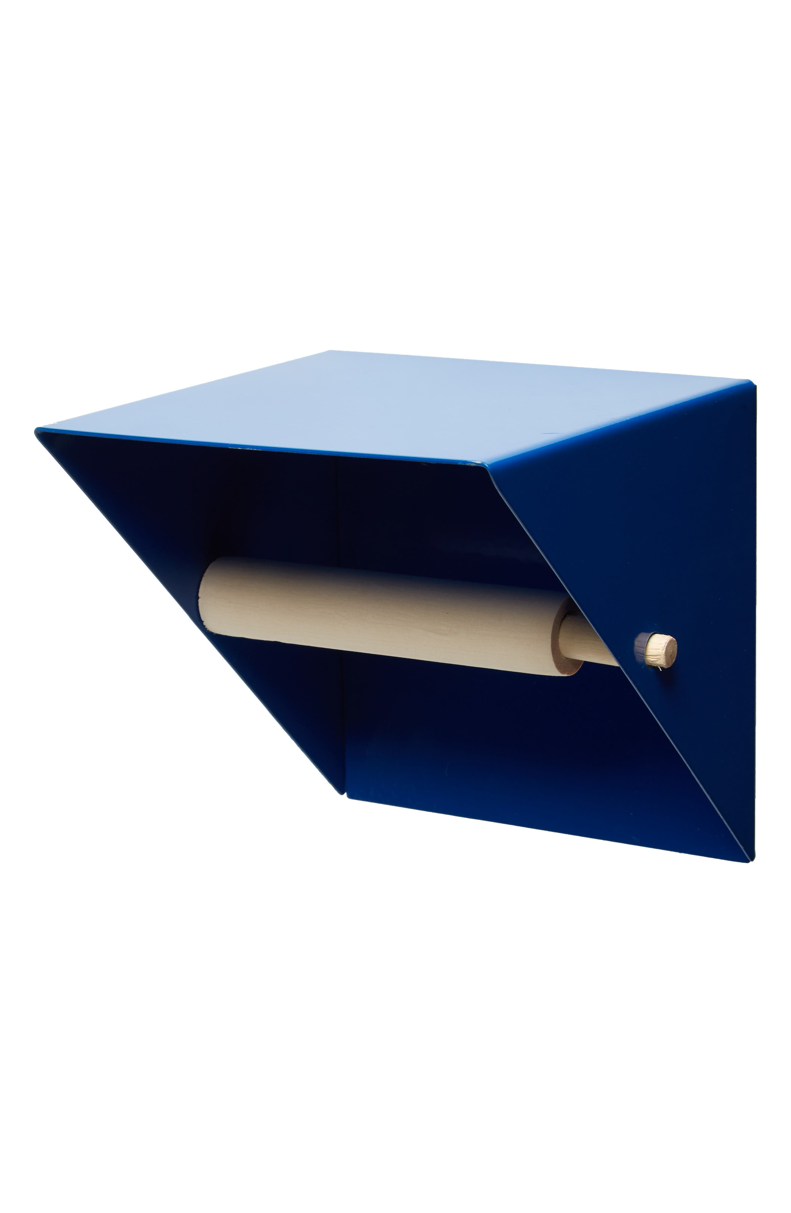 Toilet Paper Holder,                         Main,                         color, BLUE