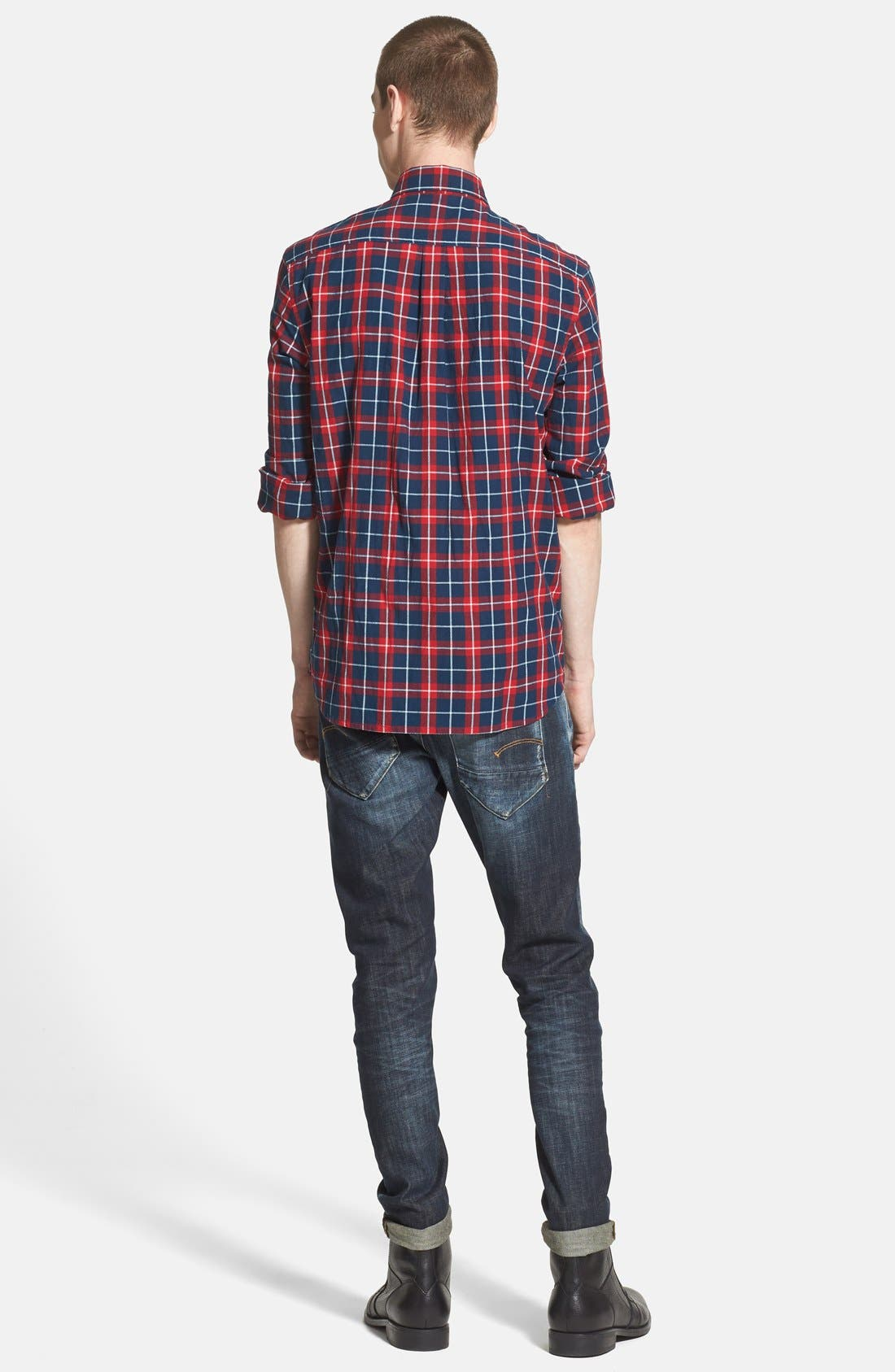'New Radar' Slim Fit Jeans,                             Alternate thumbnail 5, color,                             404