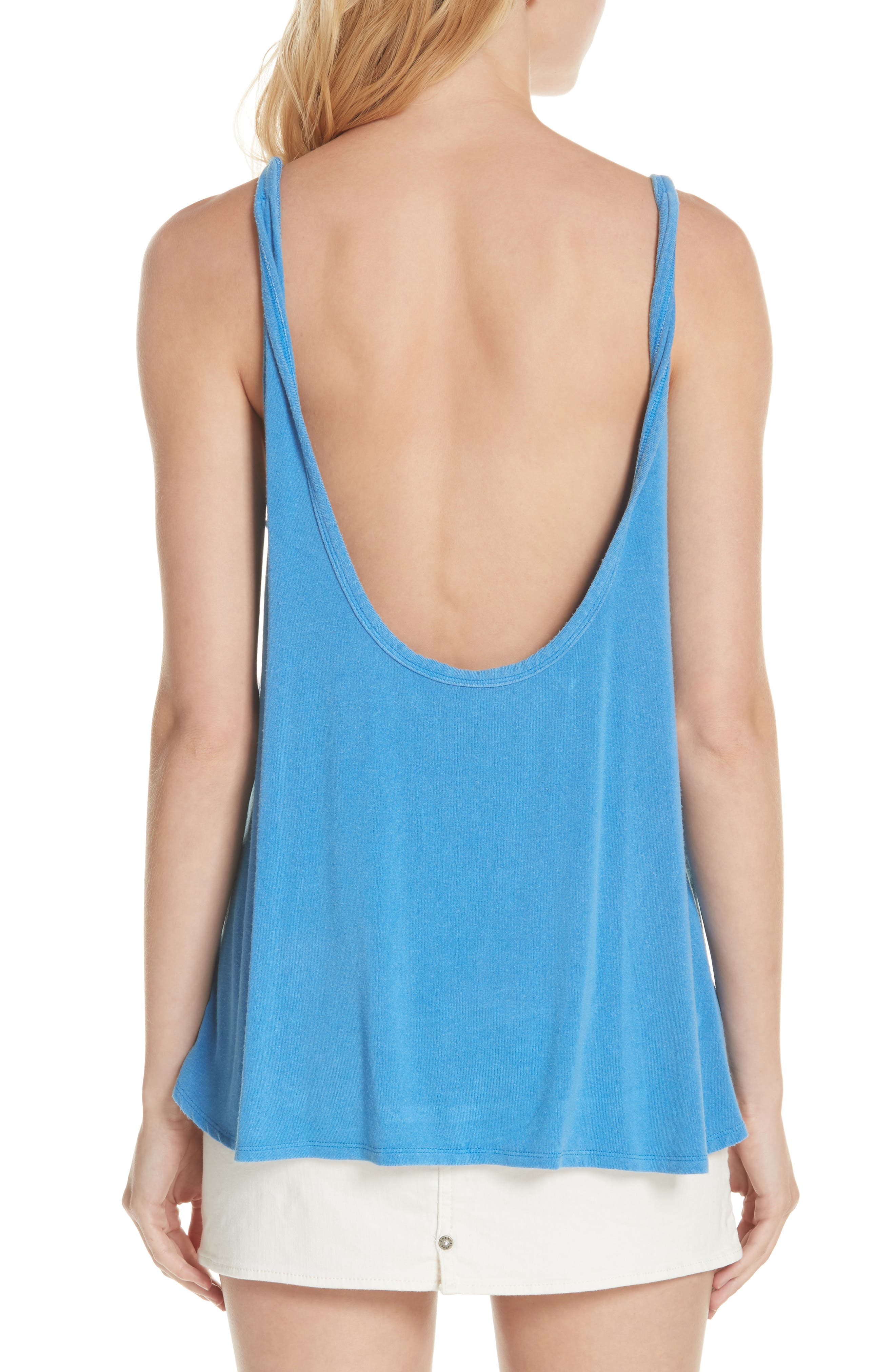 We the Free by Free People Atlantic Tank,                             Alternate thumbnail 2, color,                             BLUE