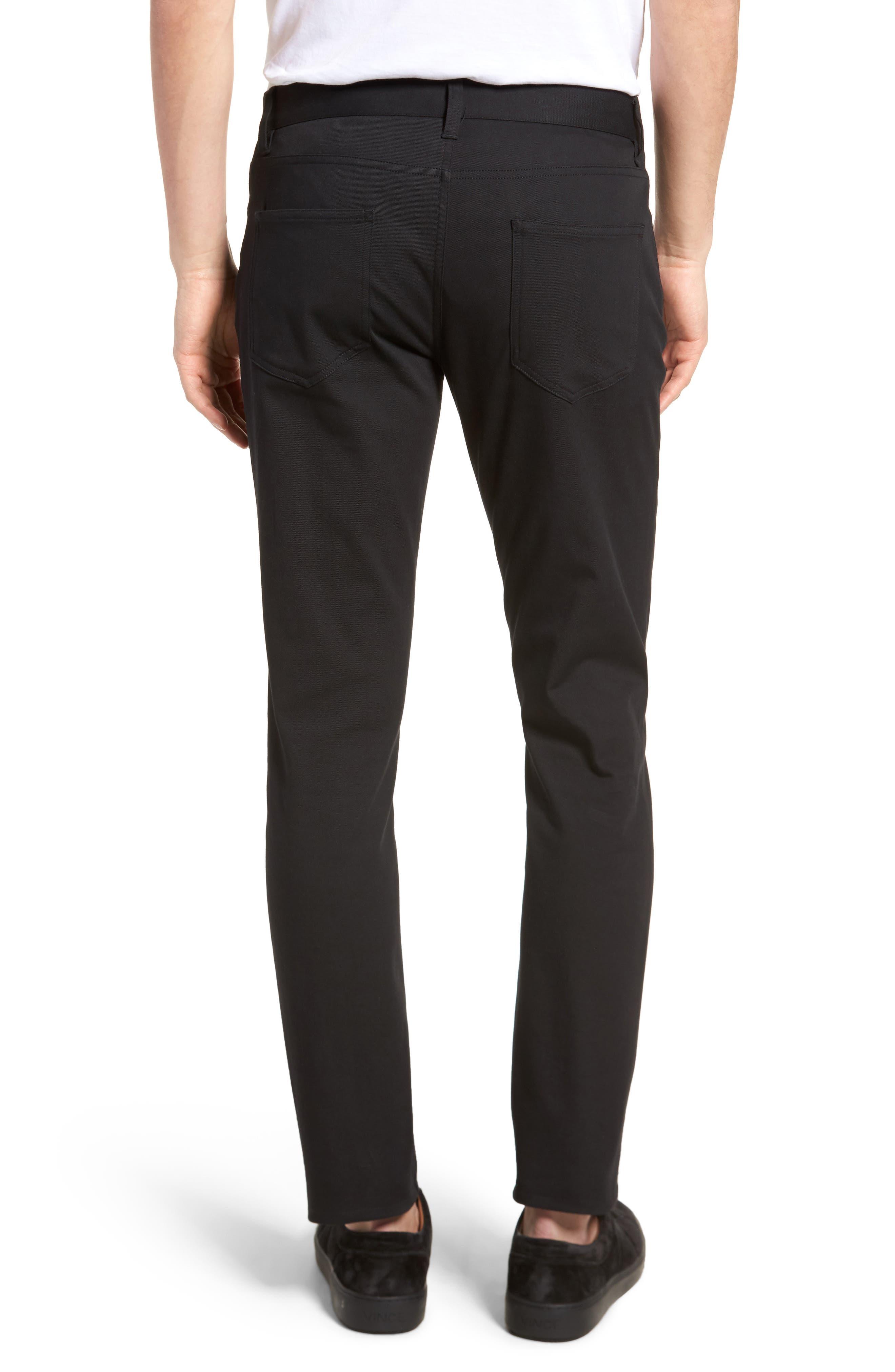 Skinny Slim Fit Pants,                             Alternate thumbnail 2, color,                             001