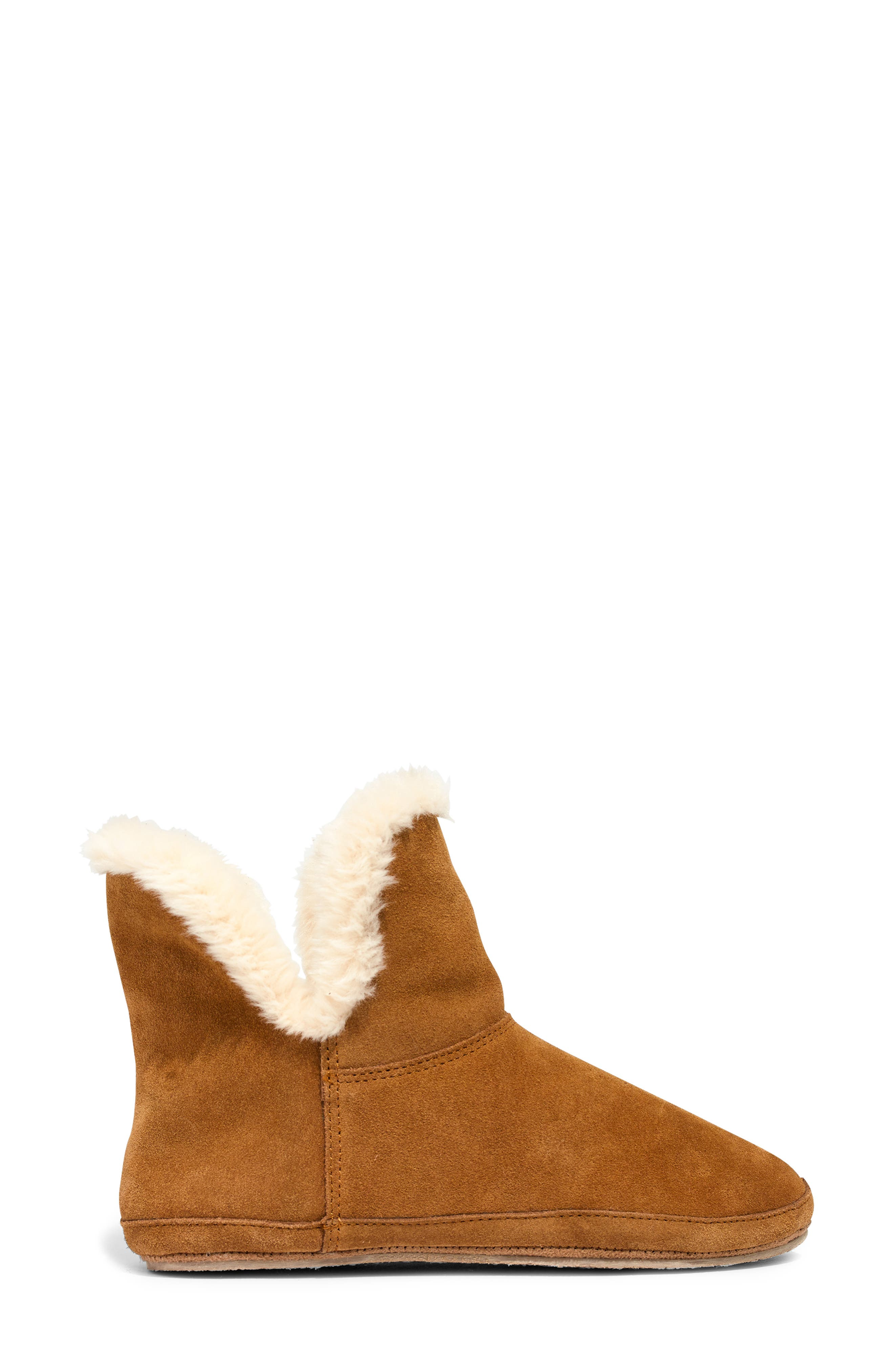 The Suede Slipper Bootie,                             Alternate thumbnail 3, color,                             200