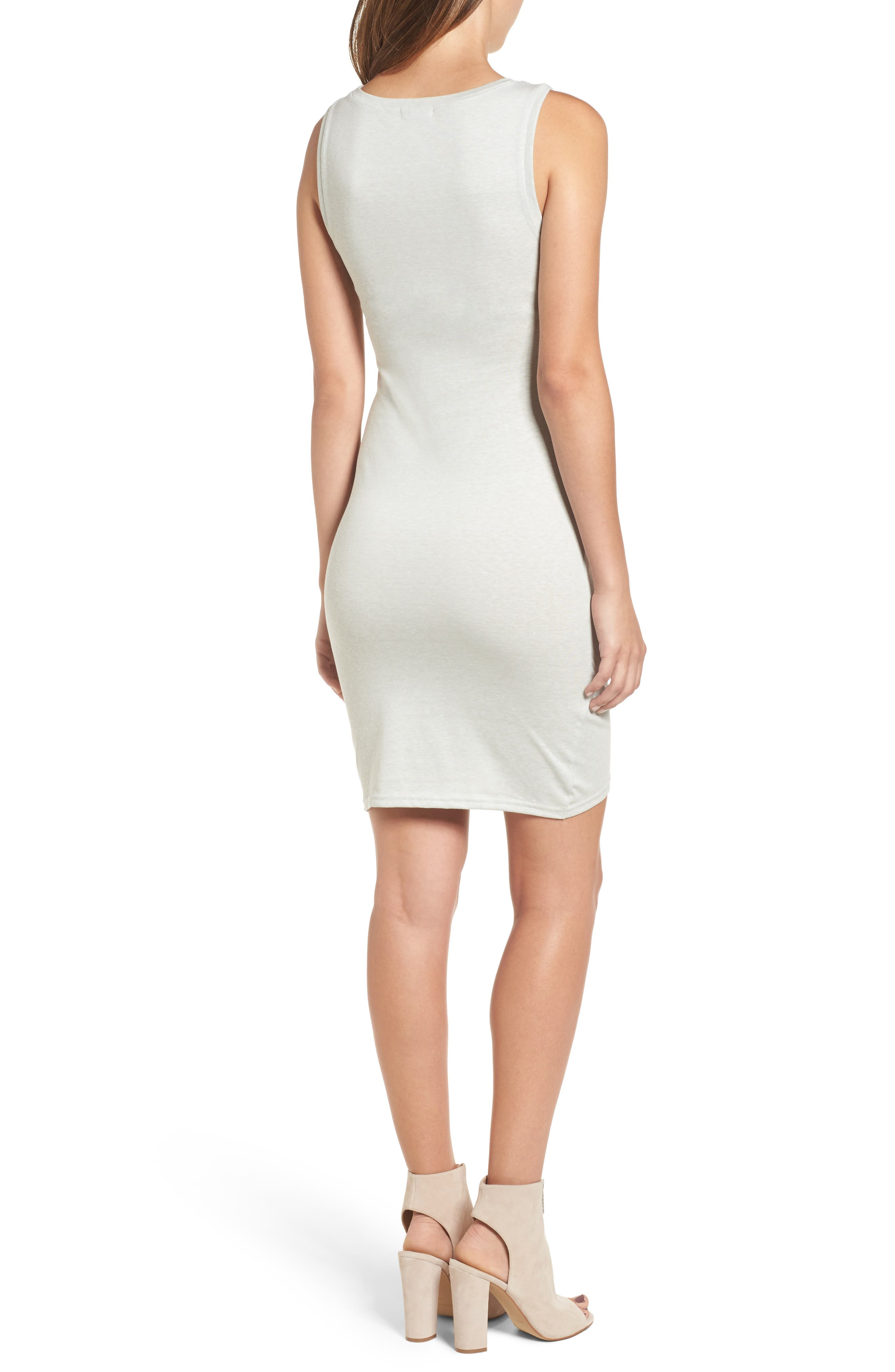 Ruched Body-Con Tank Dress,                             Alternate thumbnail 40, color,