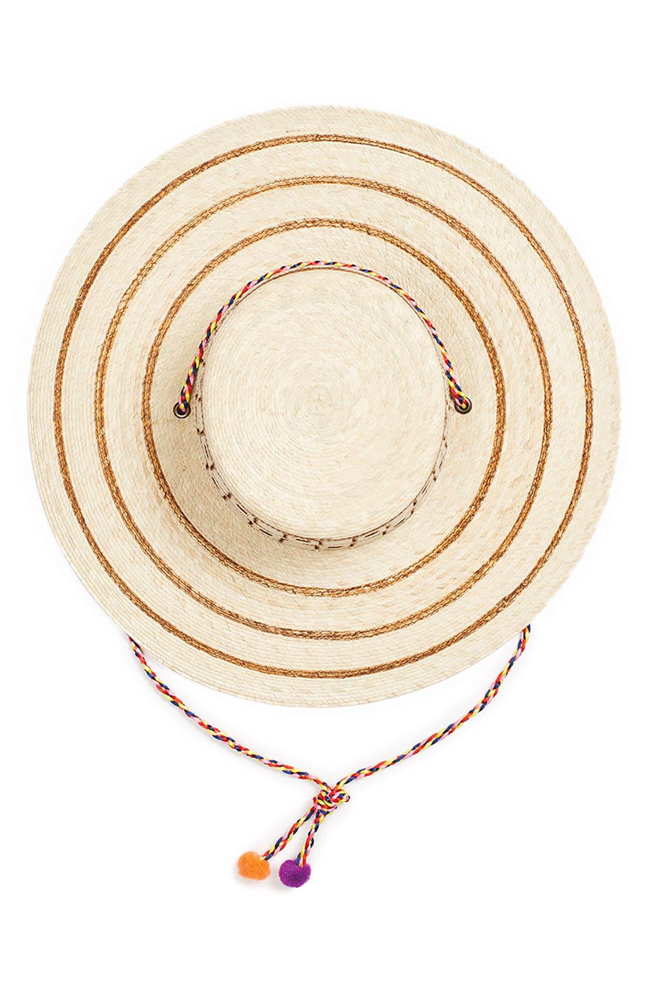 Guadalajara Hat,                             Alternate thumbnail 3, color,                             NATURAL