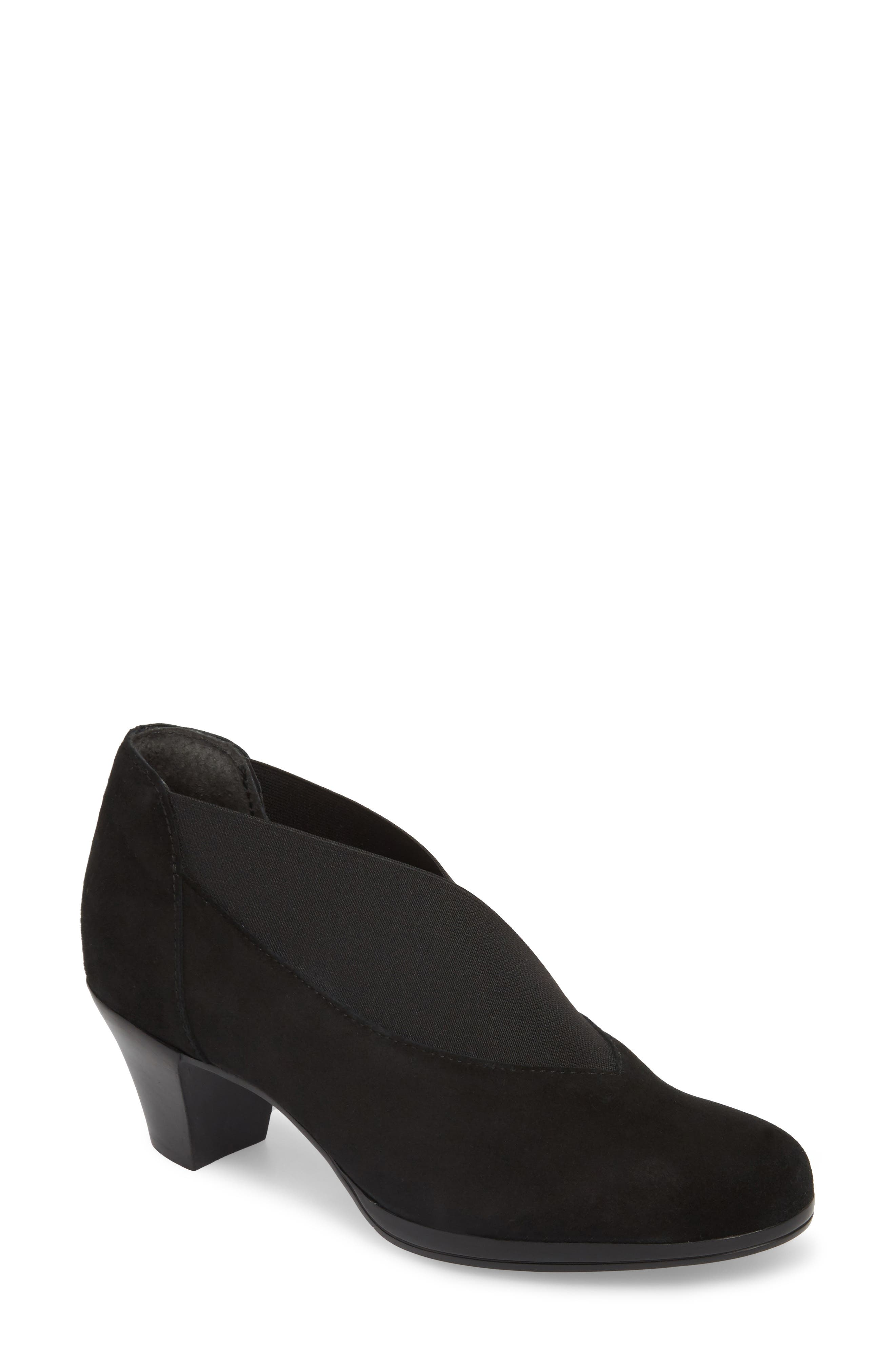 Francee Boot,                         Main,                         color, BLACK SUEDE