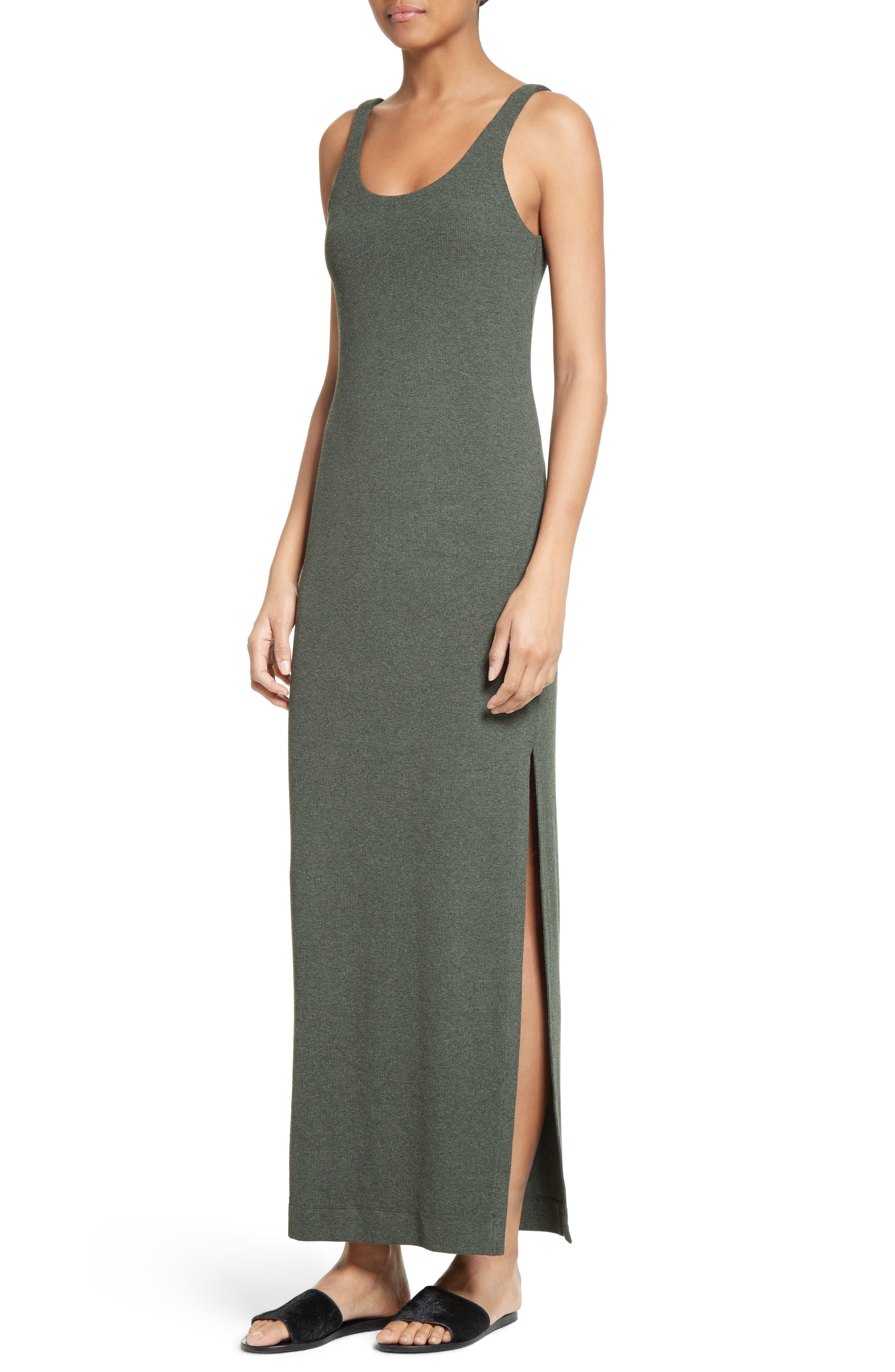 Tank Maxi Dress,                             Alternate thumbnail 7, color,