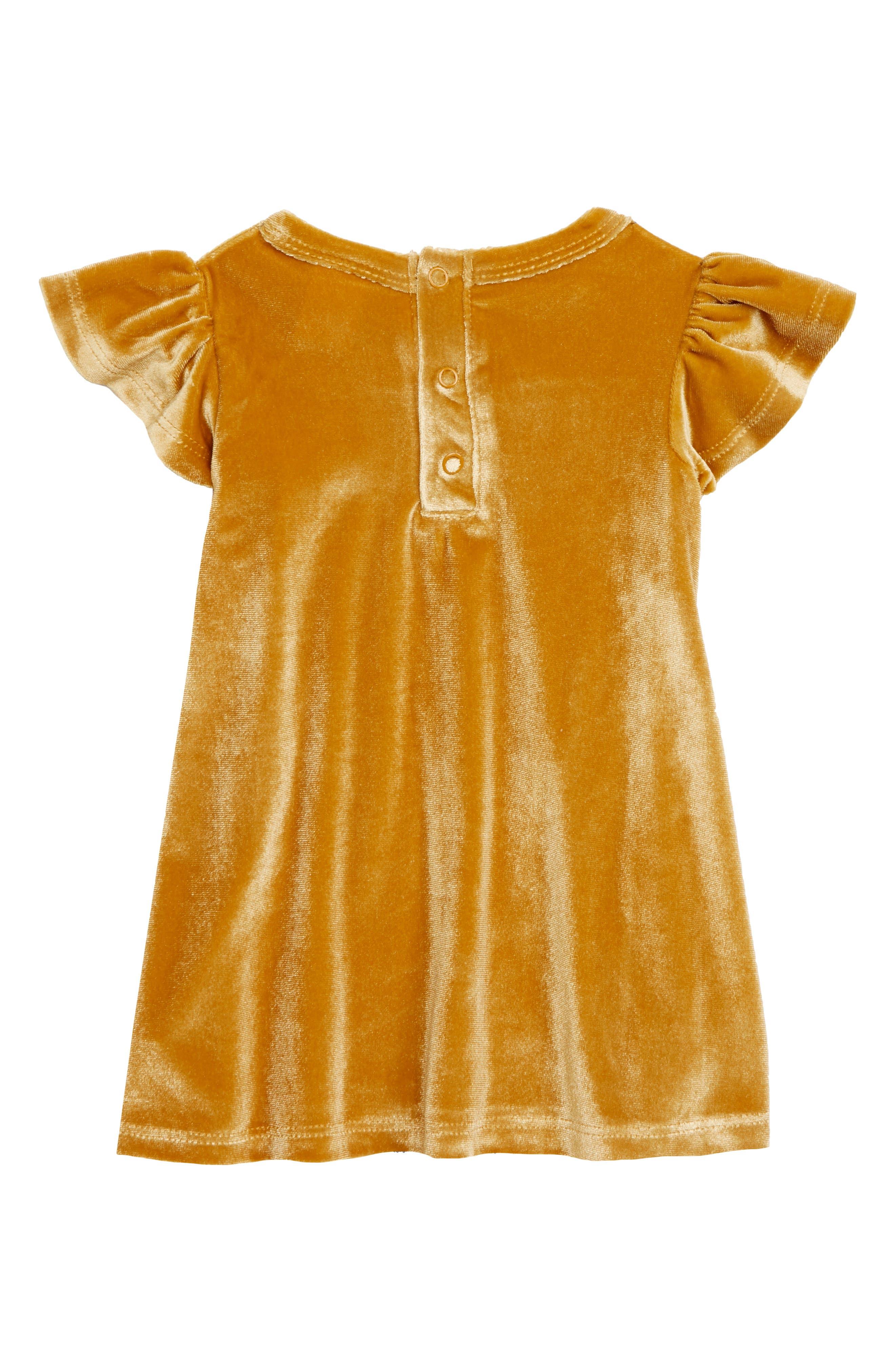 TUCKER + TATE,                             Velvet Ruffle Dress,                             Alternate thumbnail 2, color,                             701