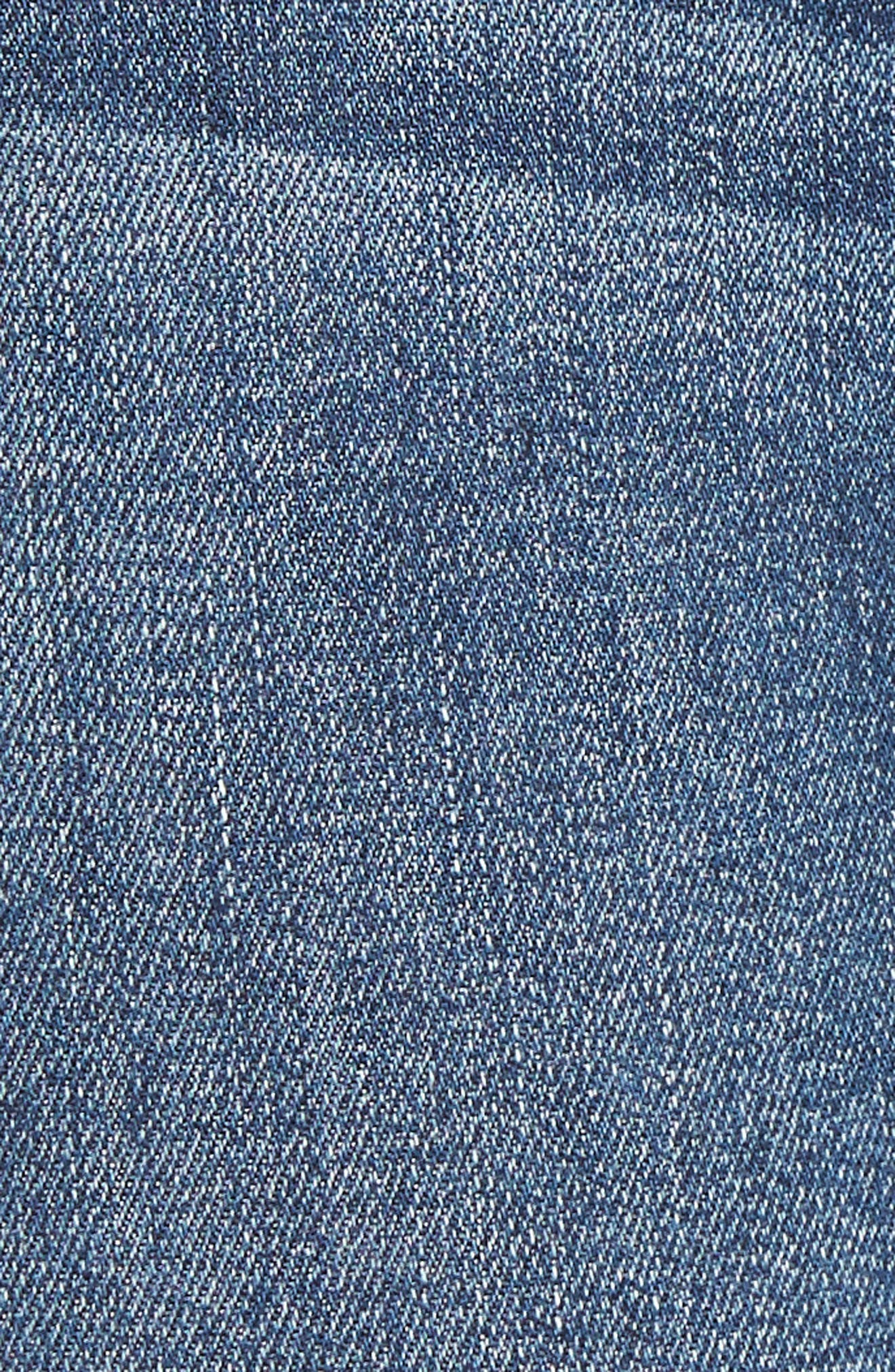 Ab-solution Ankle Skinny Jeans,                             Alternate thumbnail 6, color,                             BLUE
