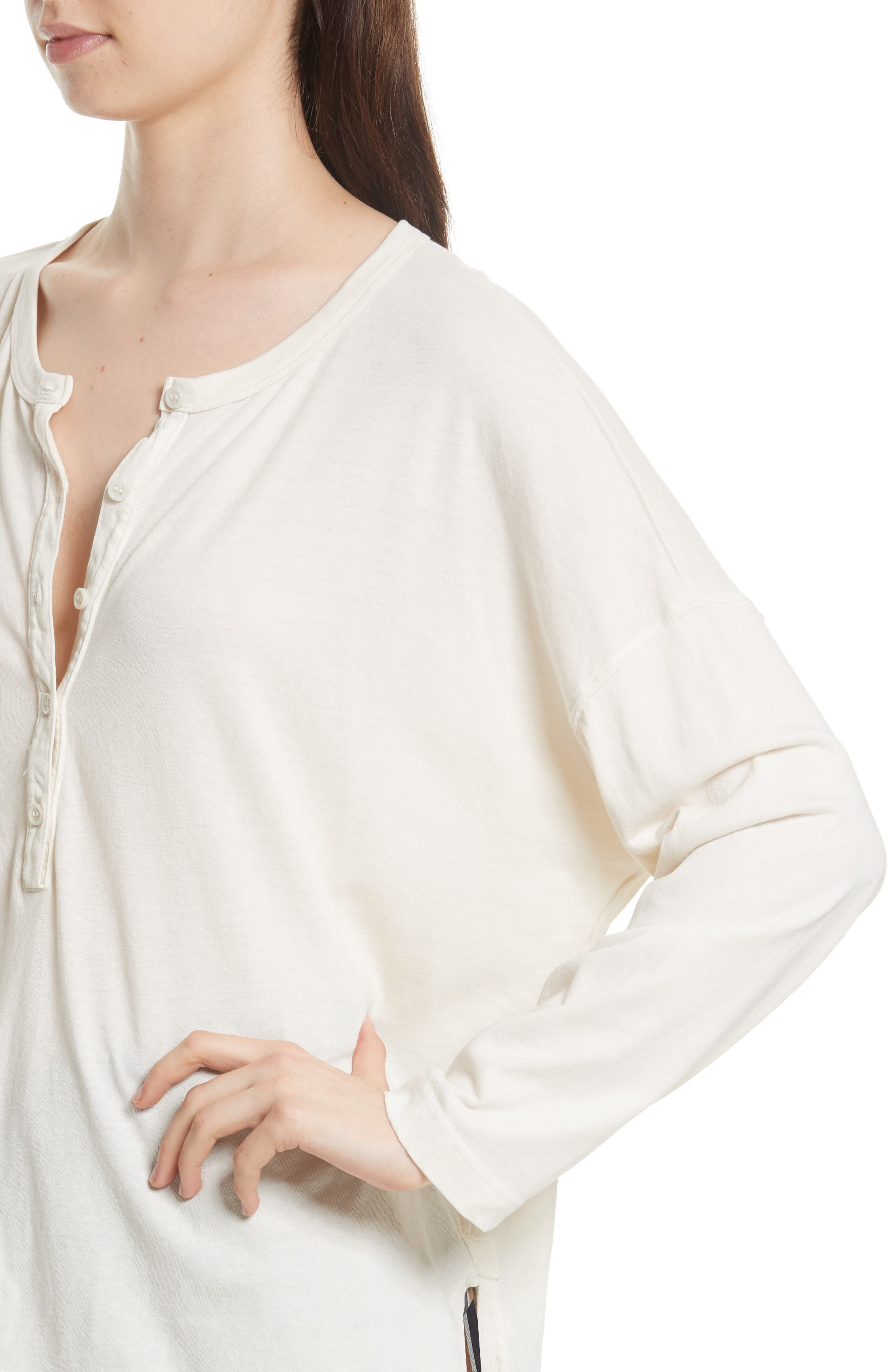 The Slouch Henley,                             Alternate thumbnail 8, color,