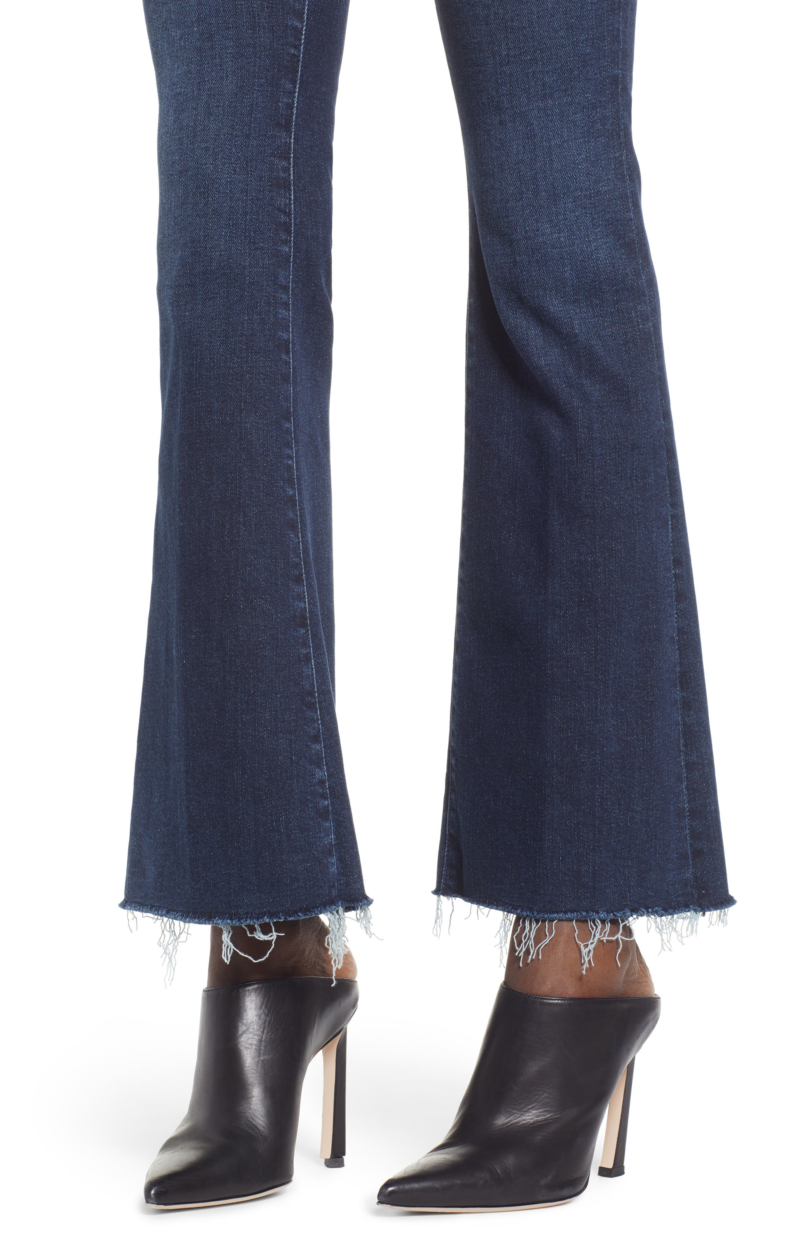 Frayed Bootcut Jeans,                             Alternate thumbnail 4, color,                             DISCO DOLLS